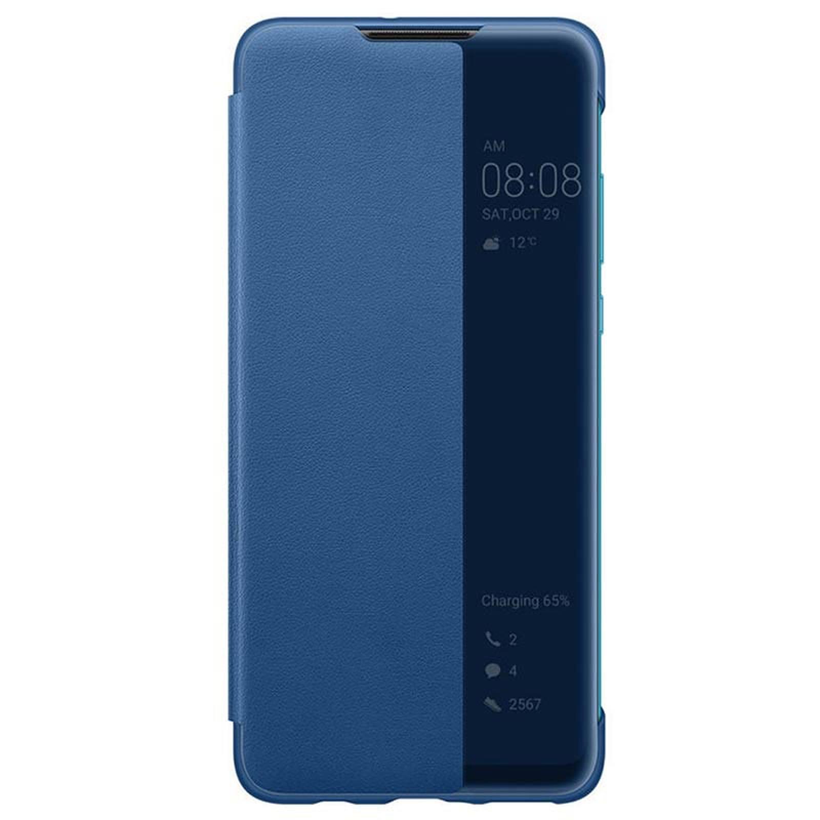 Huawei Smart View Funda Flip Azul P30 Lite