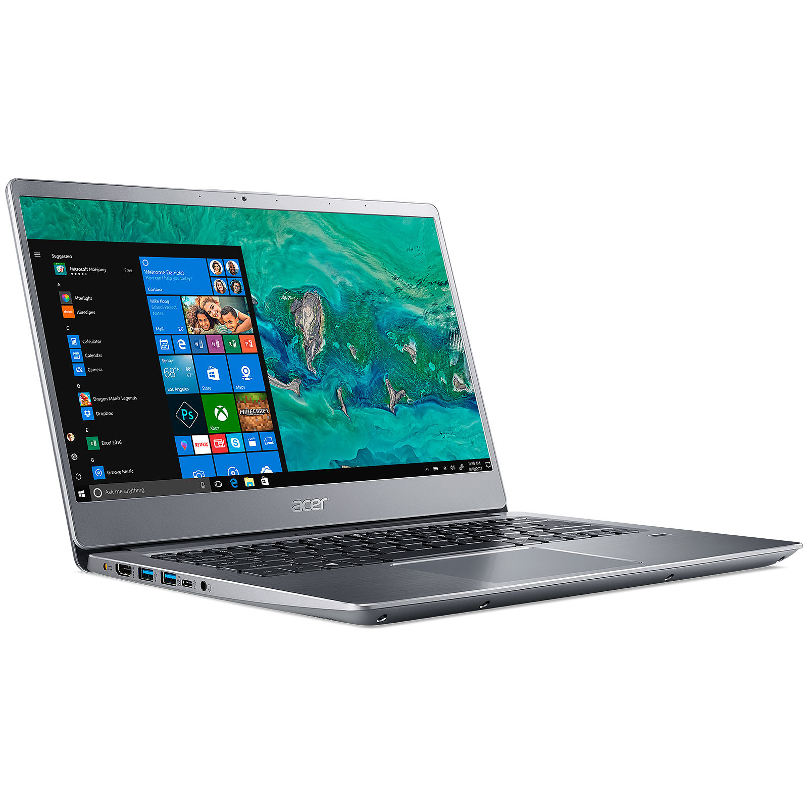 Acer Swift 3 SF314-56-31UL Gris