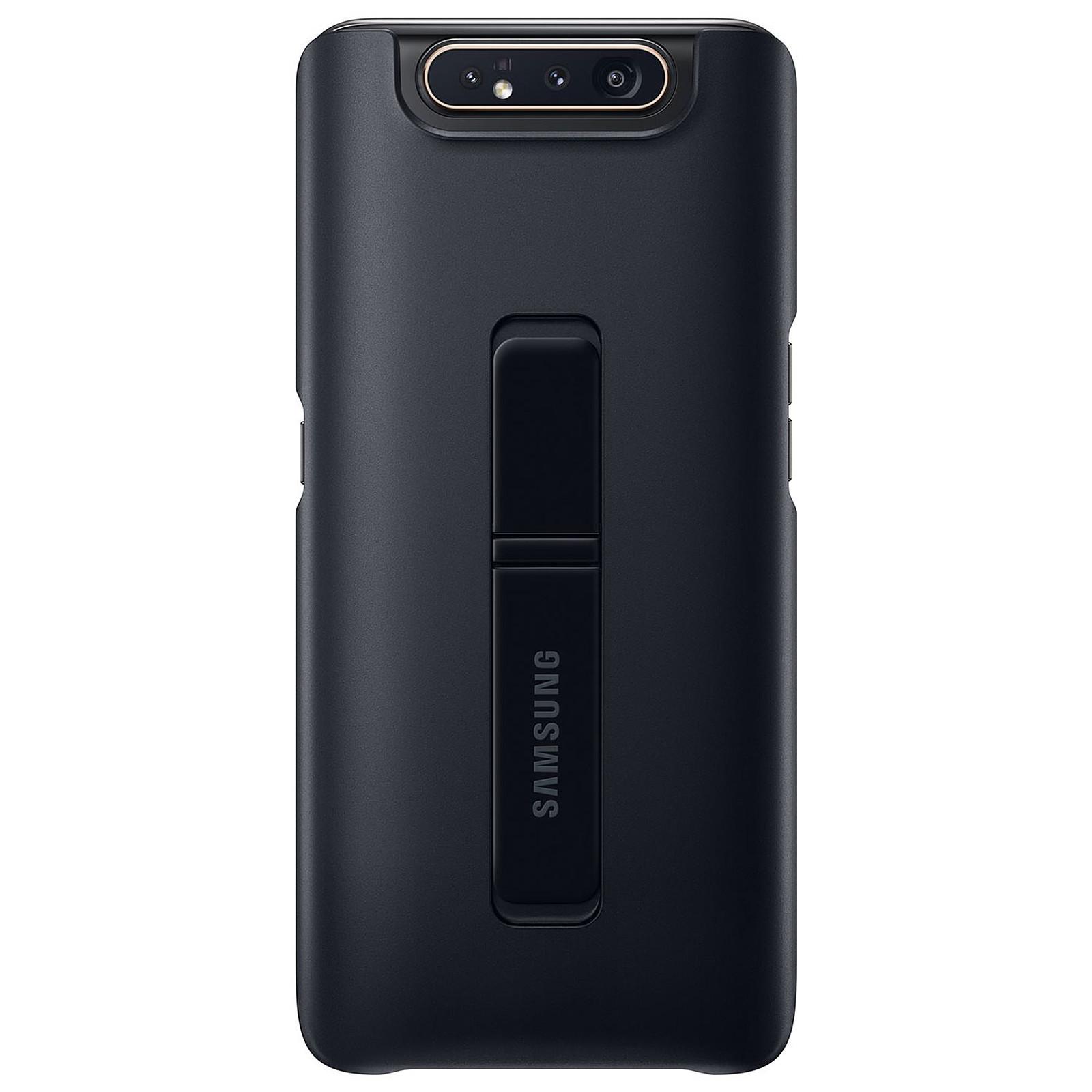 Samsung Coque Arrière Stand Noir Galaxy A80