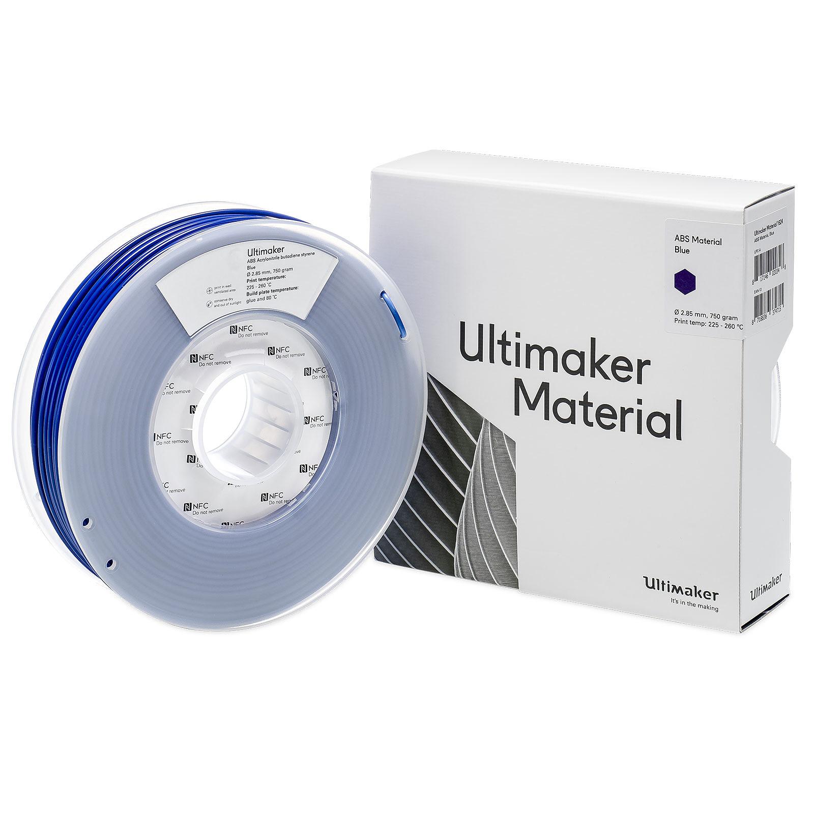 Ultimaker ABS Bleu 750g
