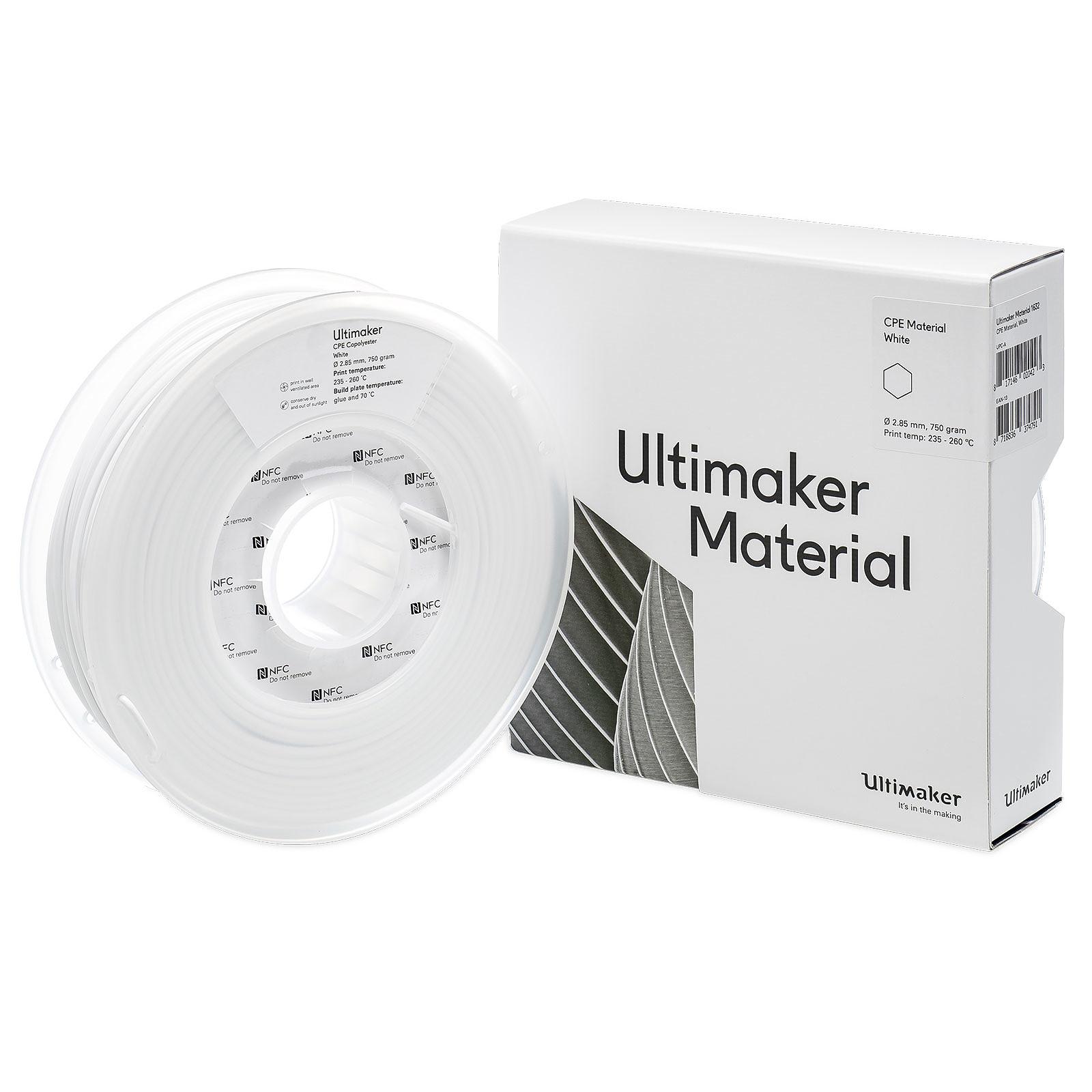 Ultimaker CPE Blanc 750g