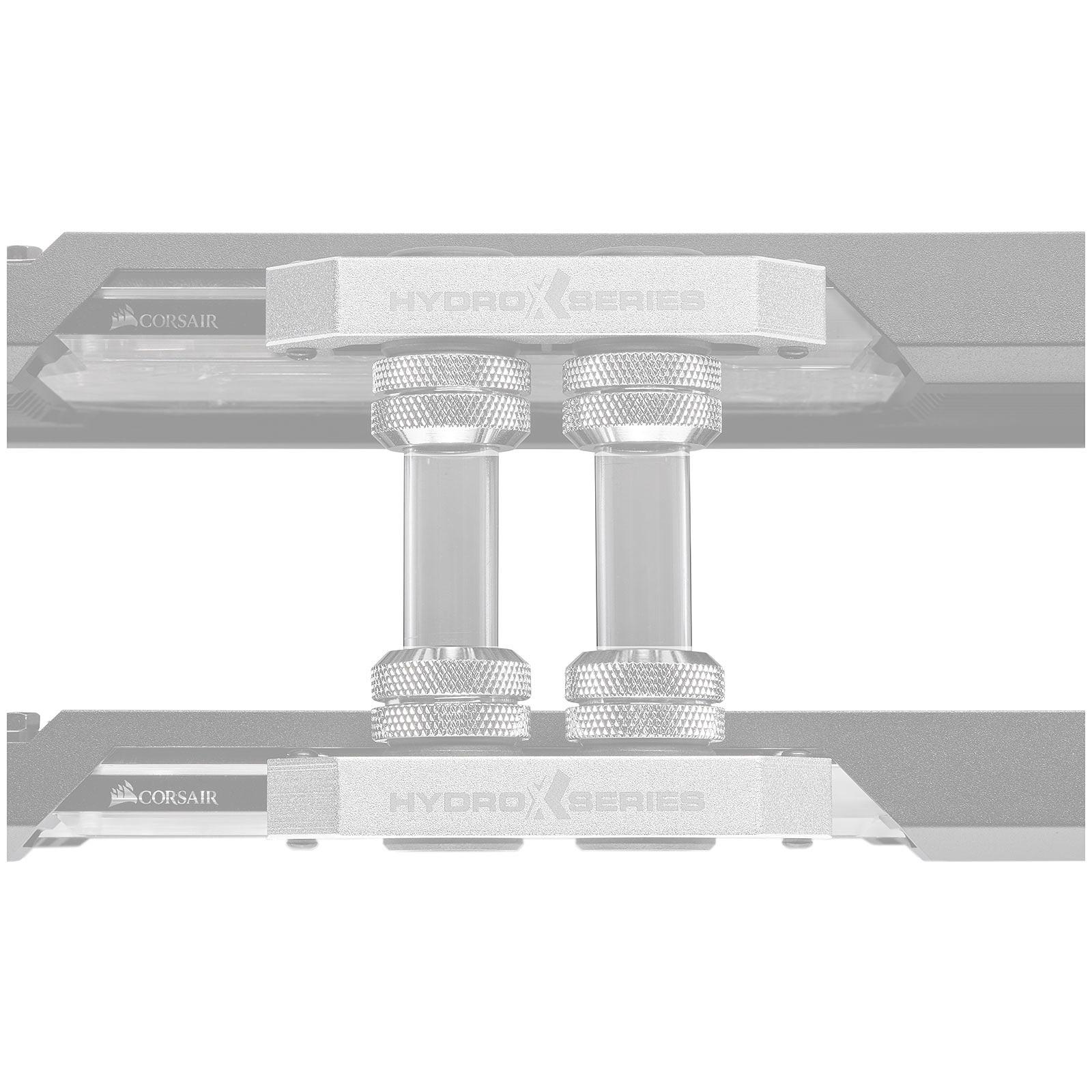 Corsair Hydro X Series XT Tuyau rigide SLI/CrossFire - Transparent (x 6)
