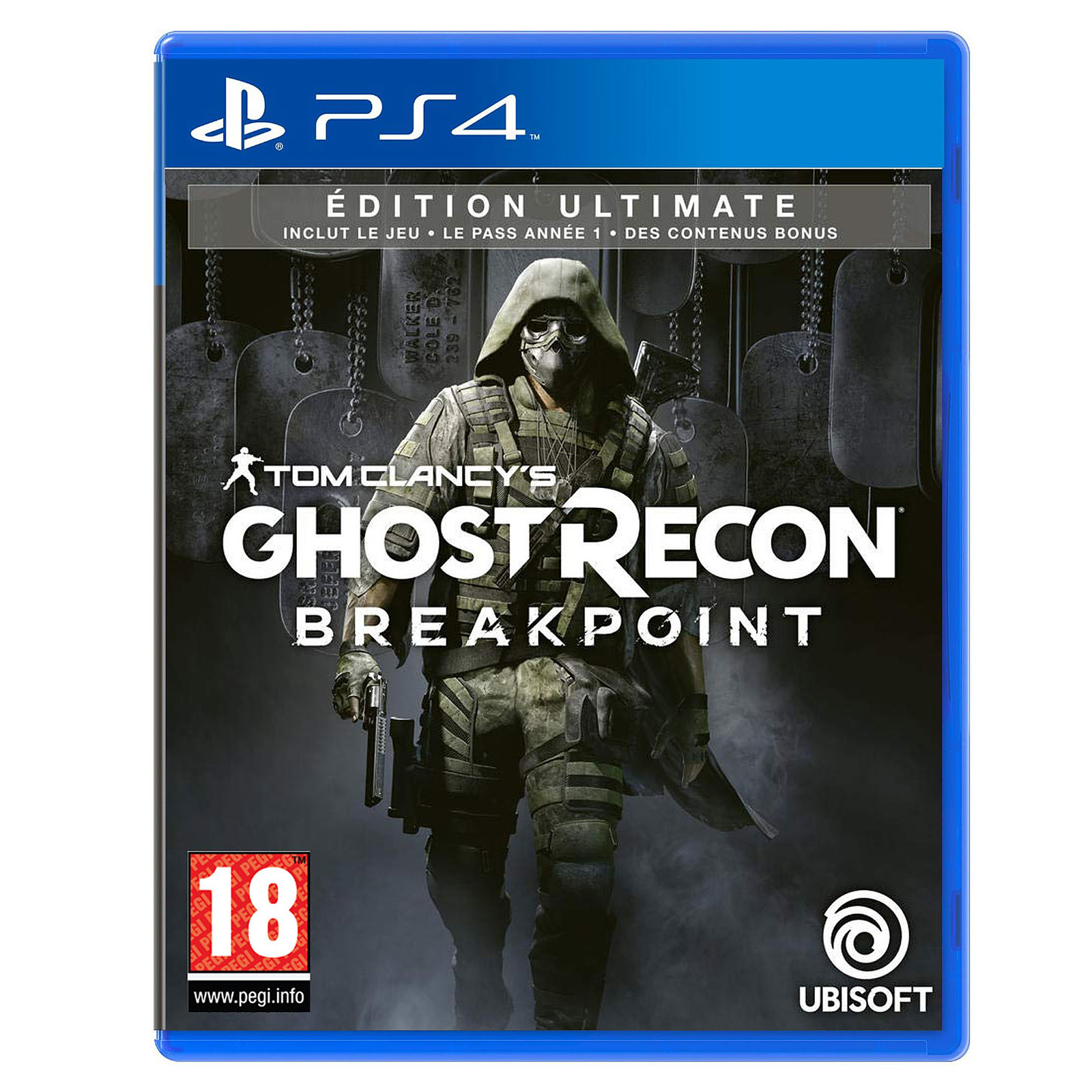 Tom Clancy's Ghost Recon : Breakpoint - Ultimate Edition (PS4)
