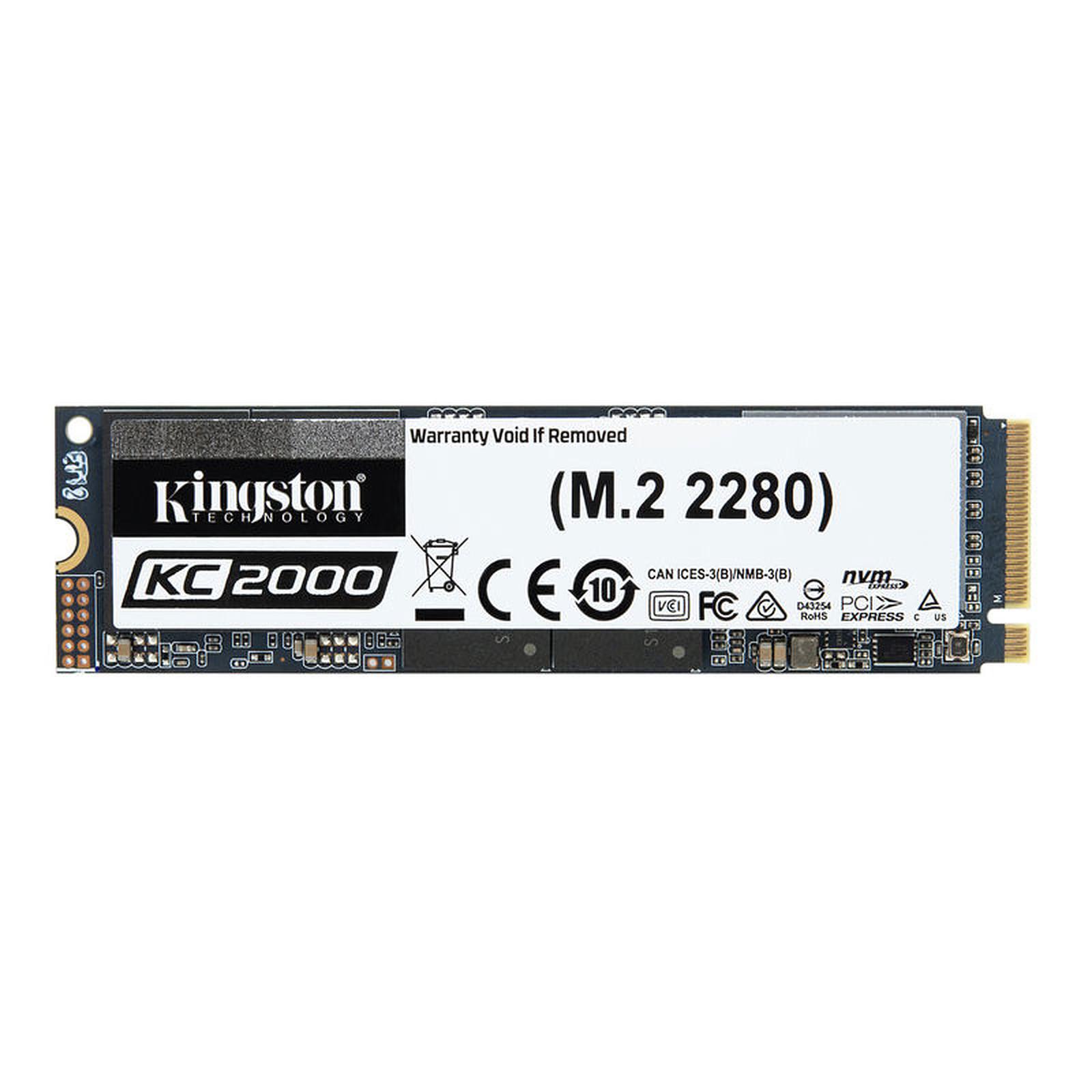 Kingston KC2000 M.2 PCIe NVMe 1 To