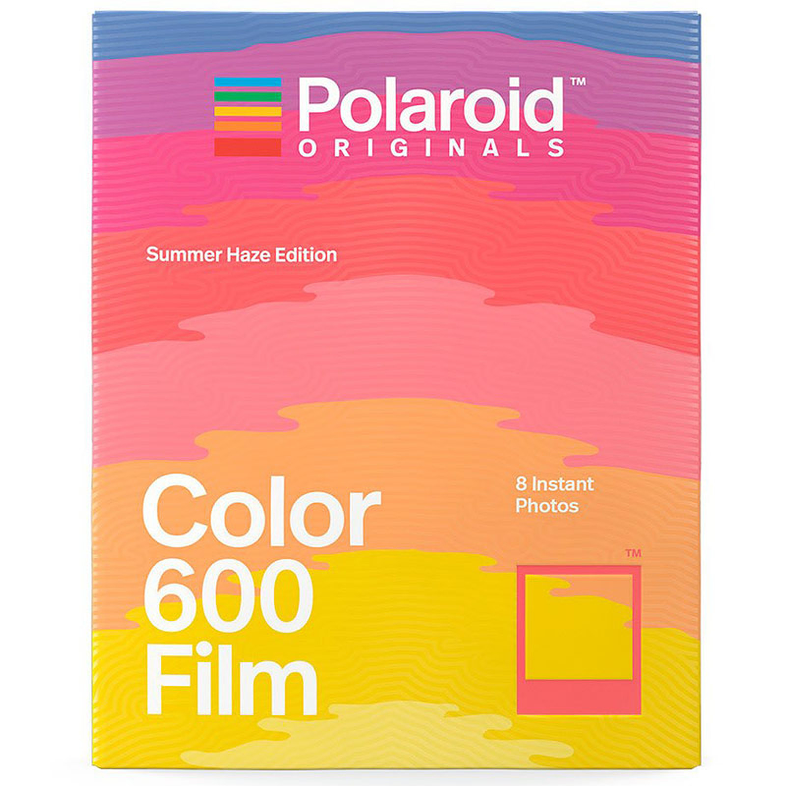 Polaroid Color 600 Film Summer Haze