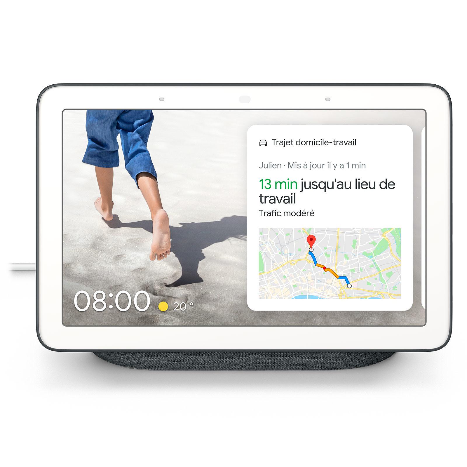 Google Nest Hub Charbon