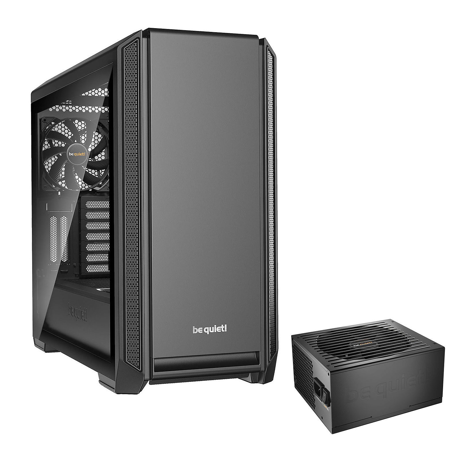 be quiet! Silent Base 601 Window (Noir) + be quiet! Straight Power 11 650W 80PLUS Gold