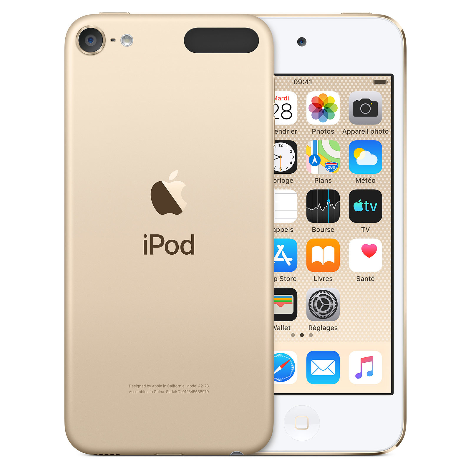 Apple iPod touch (2019) 128 GB Oro
