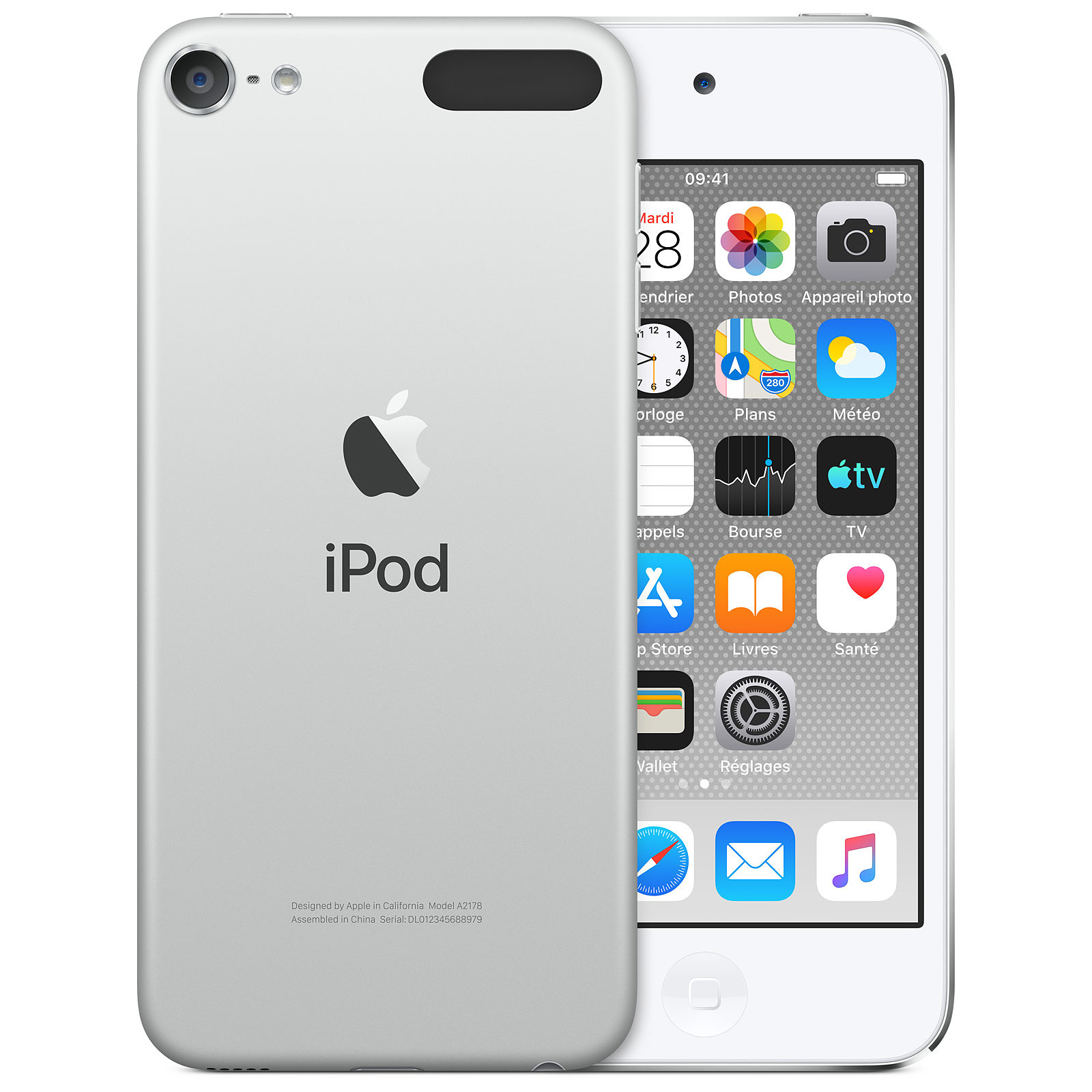 Apple iPod touch (2019) 32 Go Argent