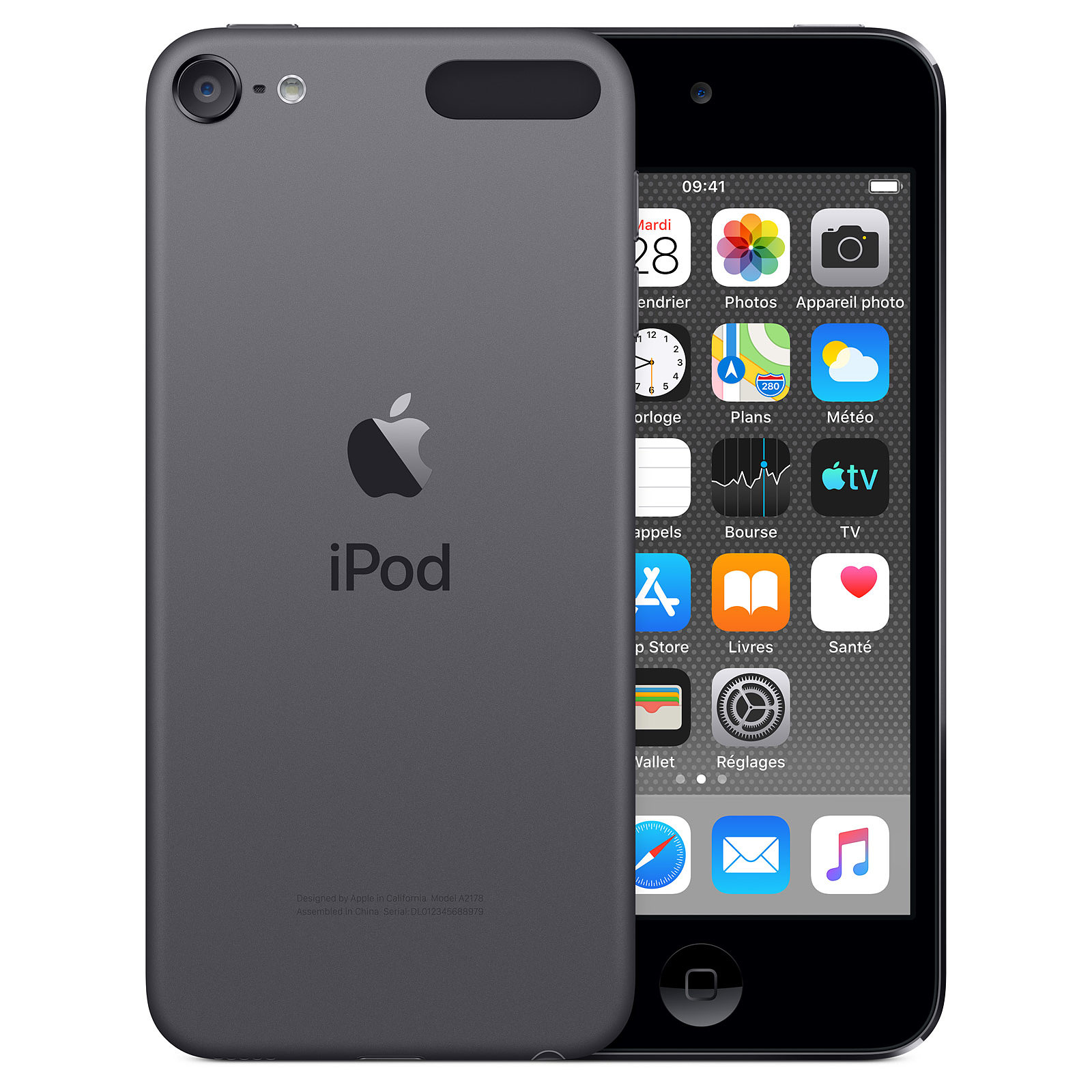 Apple iPod touch (2019) 256 GB Gris Sidéreo