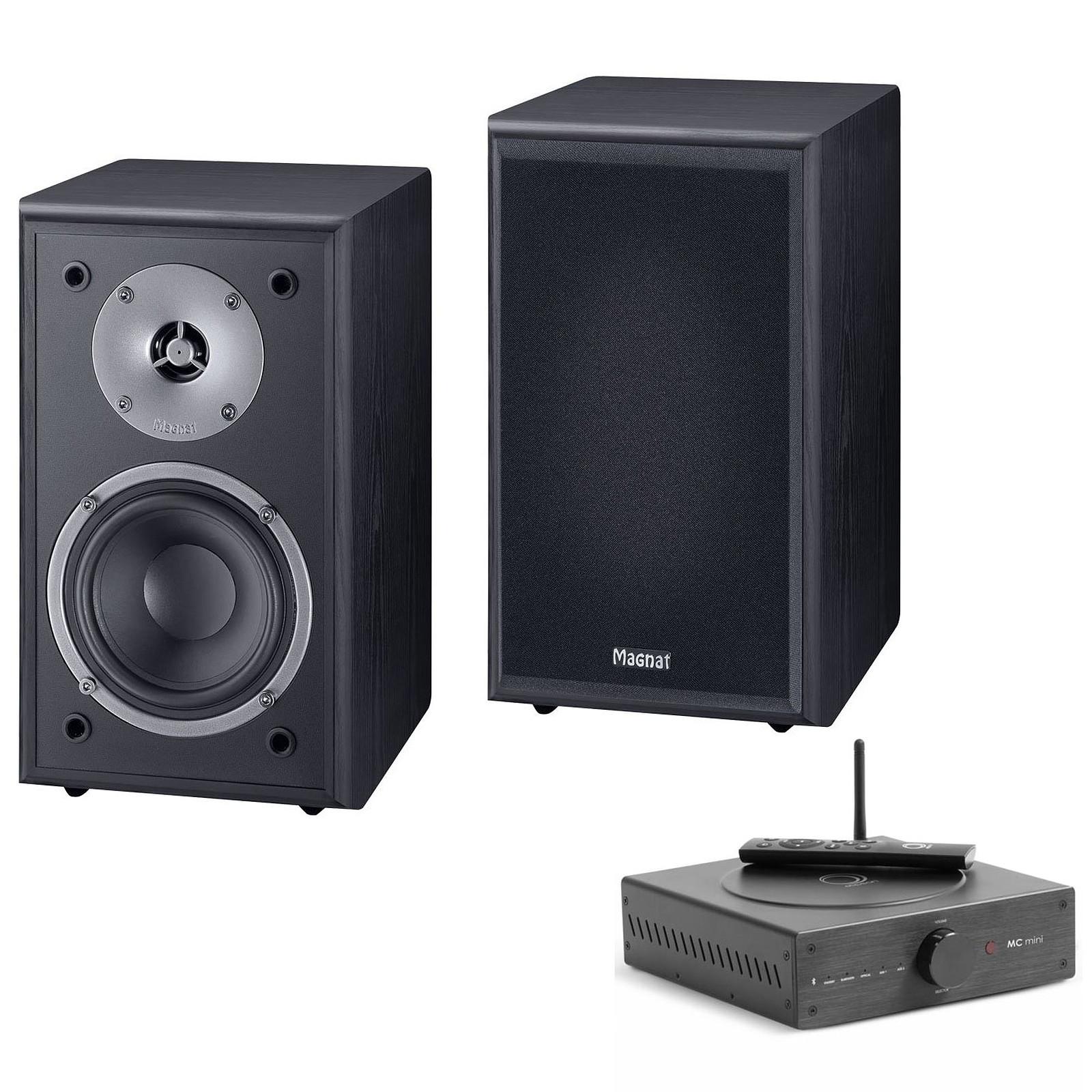 Elipson MC Mini + Magnat Monitor Supreme 102 Noir