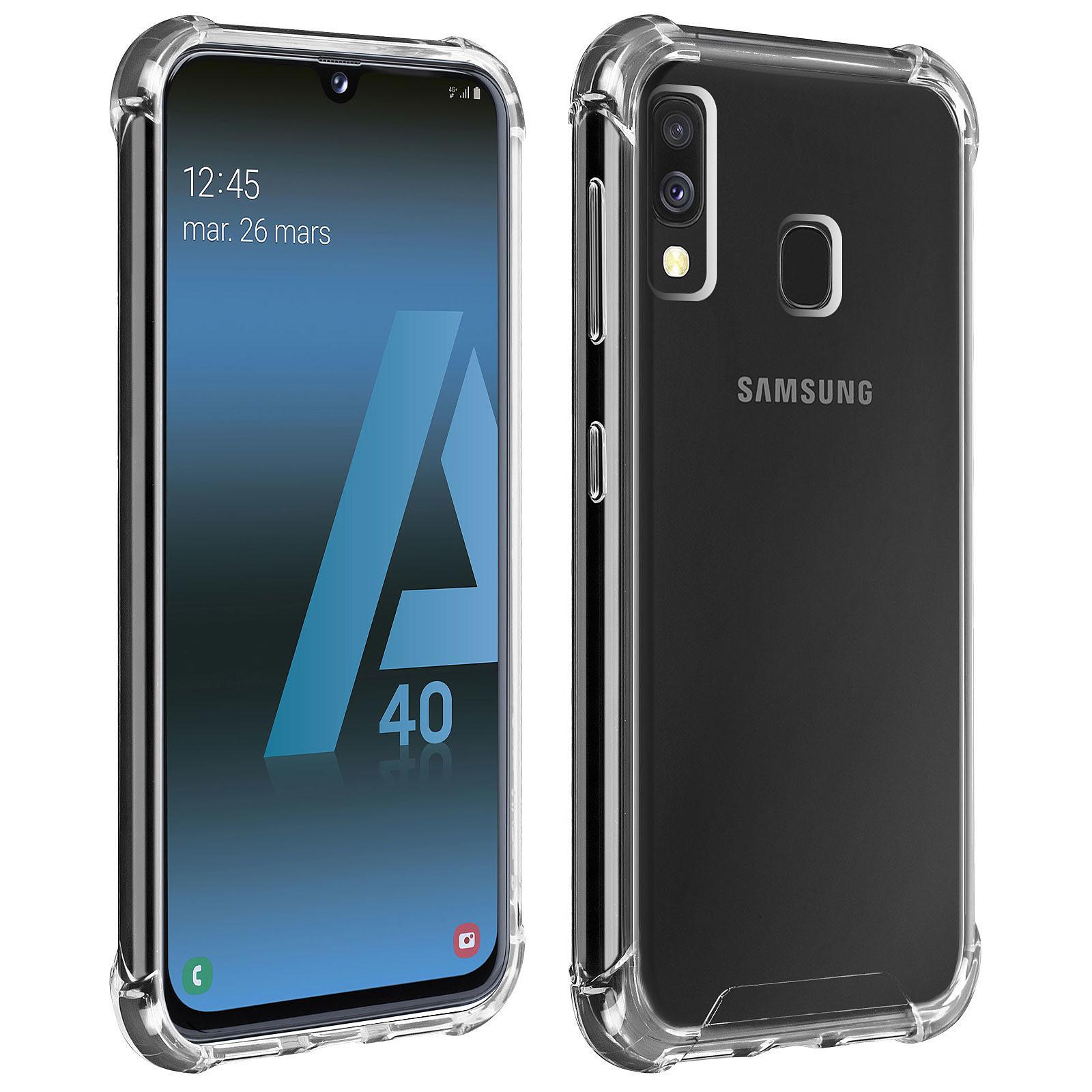 Akashi Coque TPU Angles Renforcés Samsung Galaxy A40