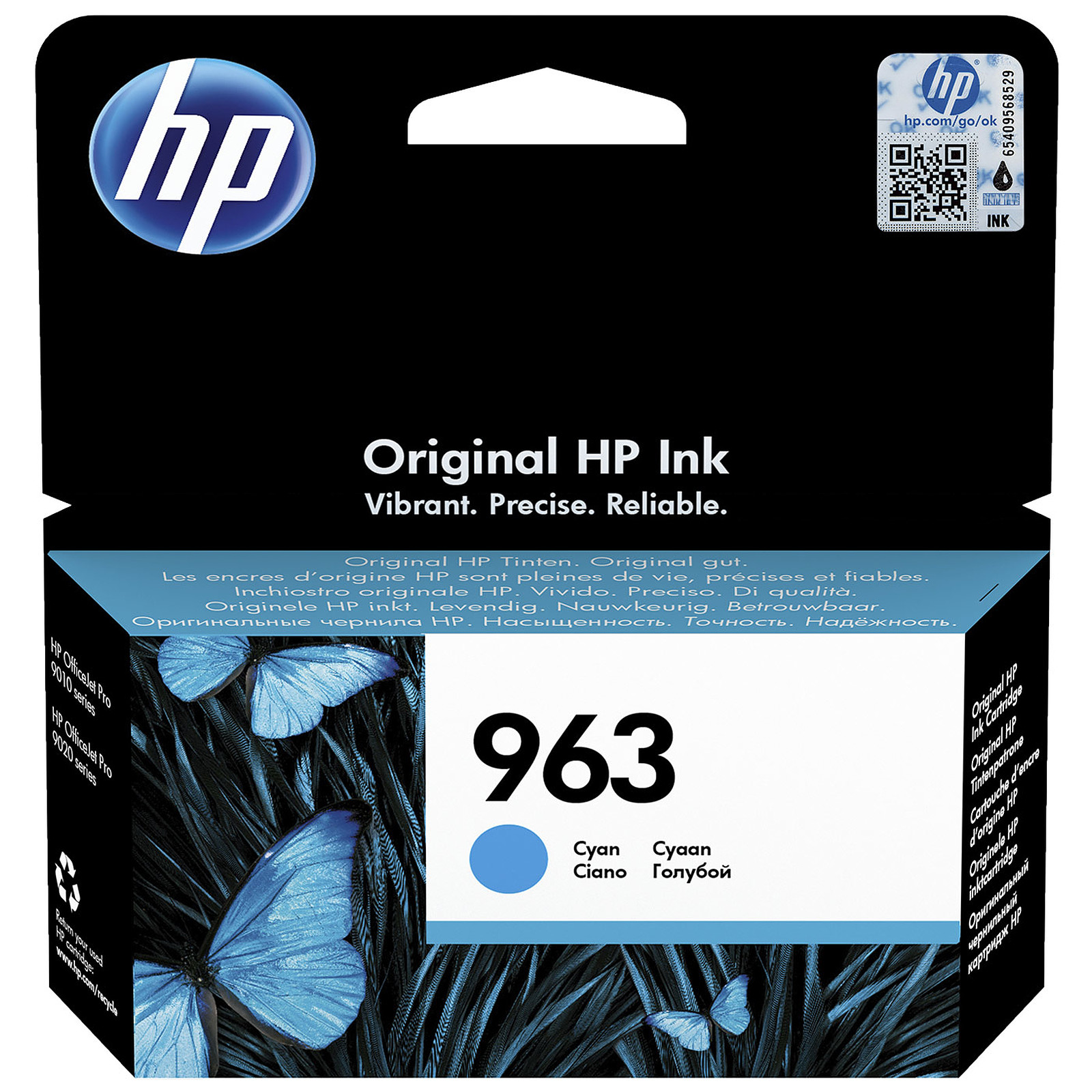 HP 963 Cyan (3JA23AE)