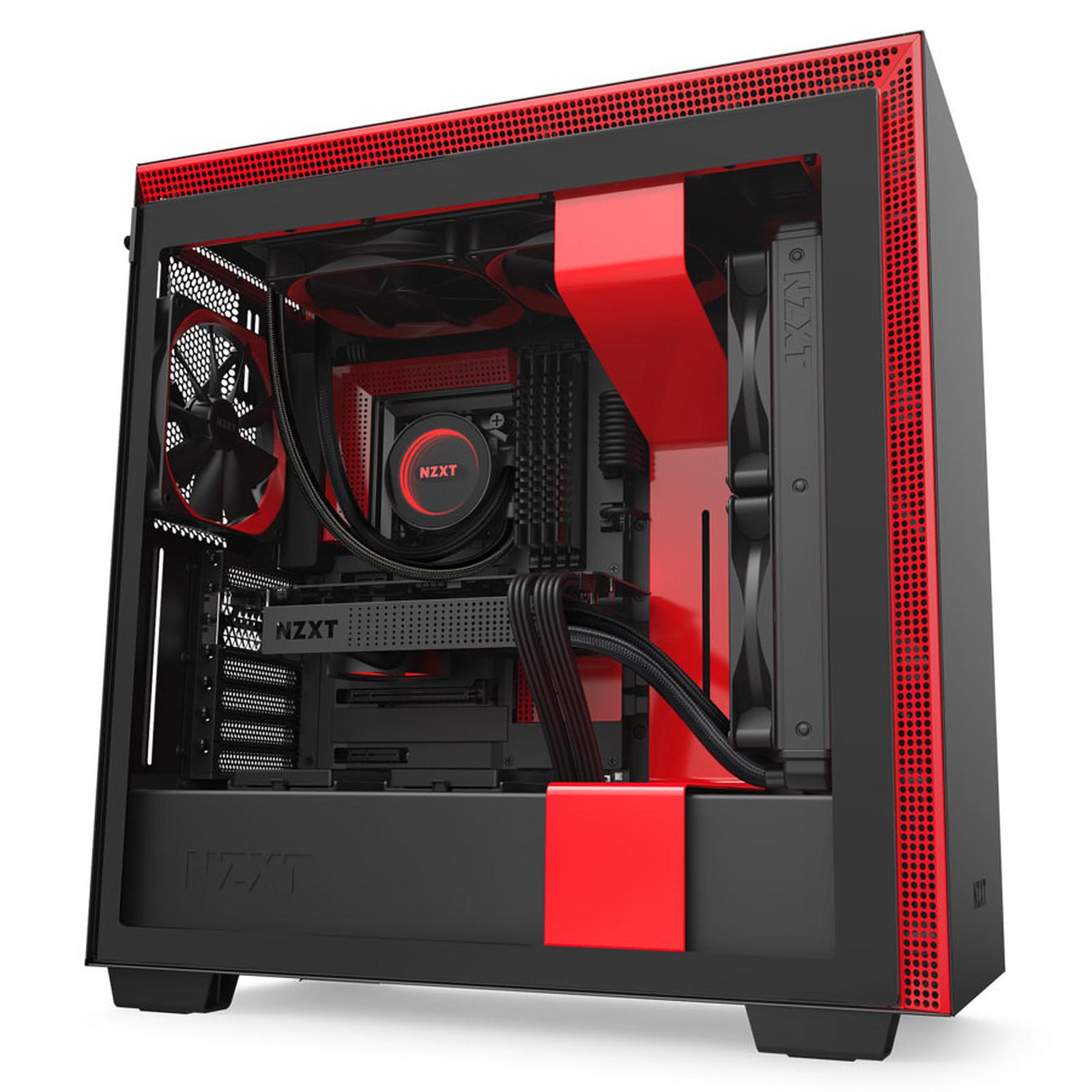 NZXT H710 Noir/Rouge