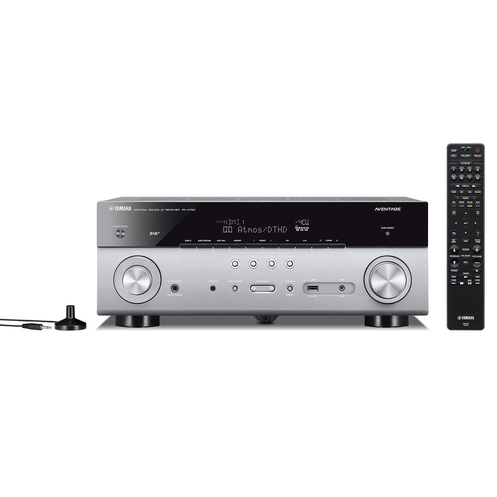 Yamaha MusicCast RX-A780 Titane
