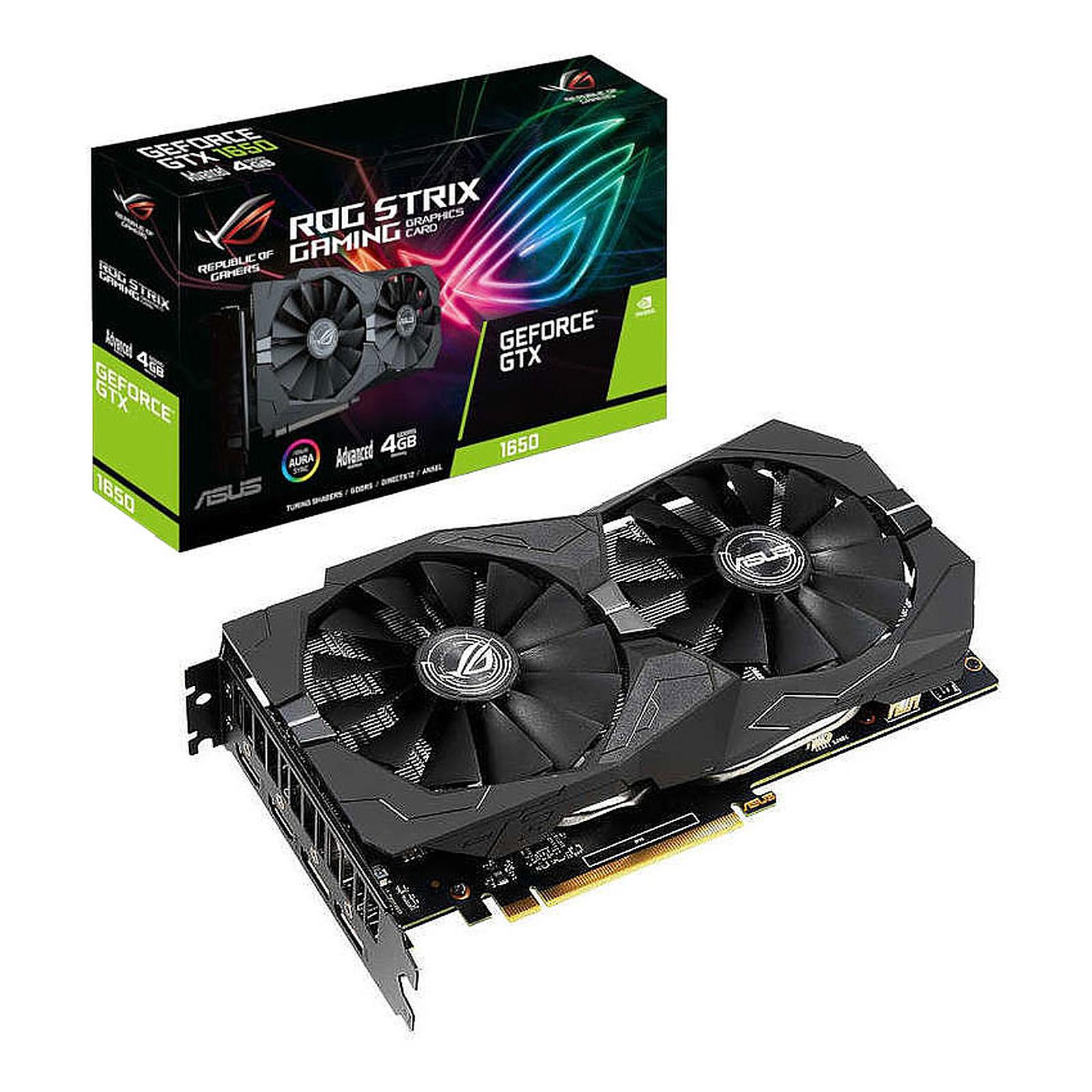 ASUS GeForce GTX 1650 ROG-STRIX-GTX1650-A4G-GAMING