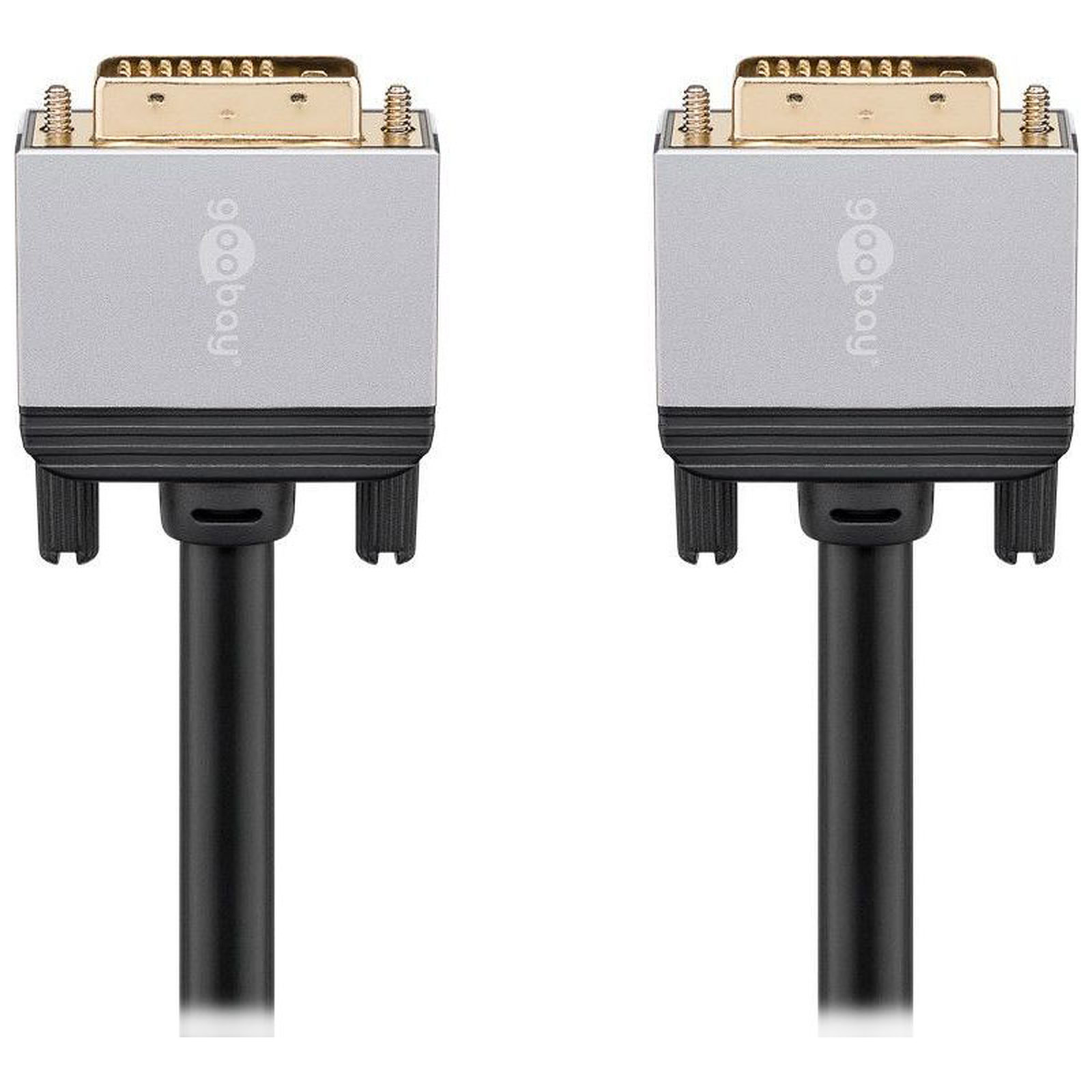 Goobay Plus Câble DVI-D 4K (1.5 m)