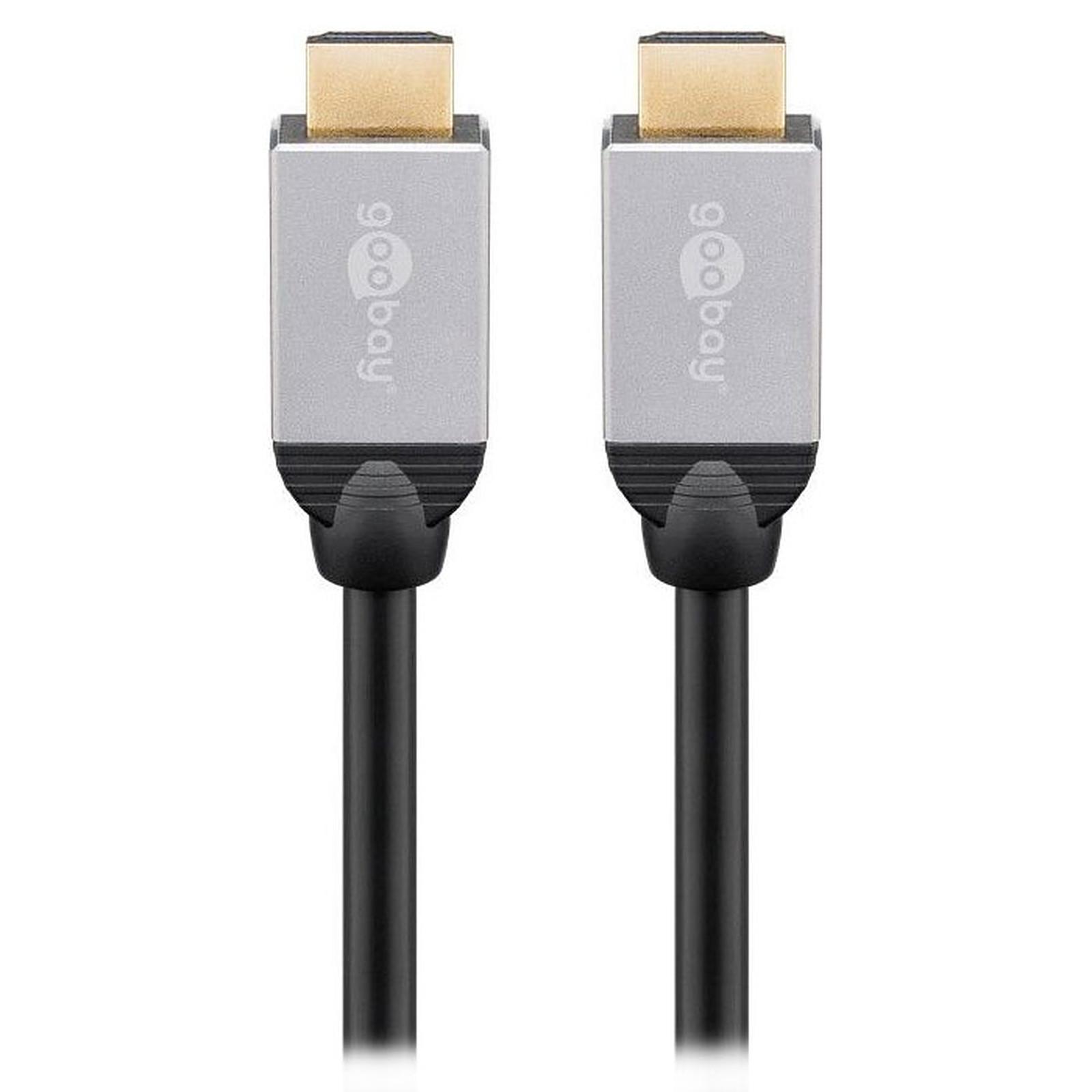 Goobay Plus Câble HDMI 2.0 4K (3 m)