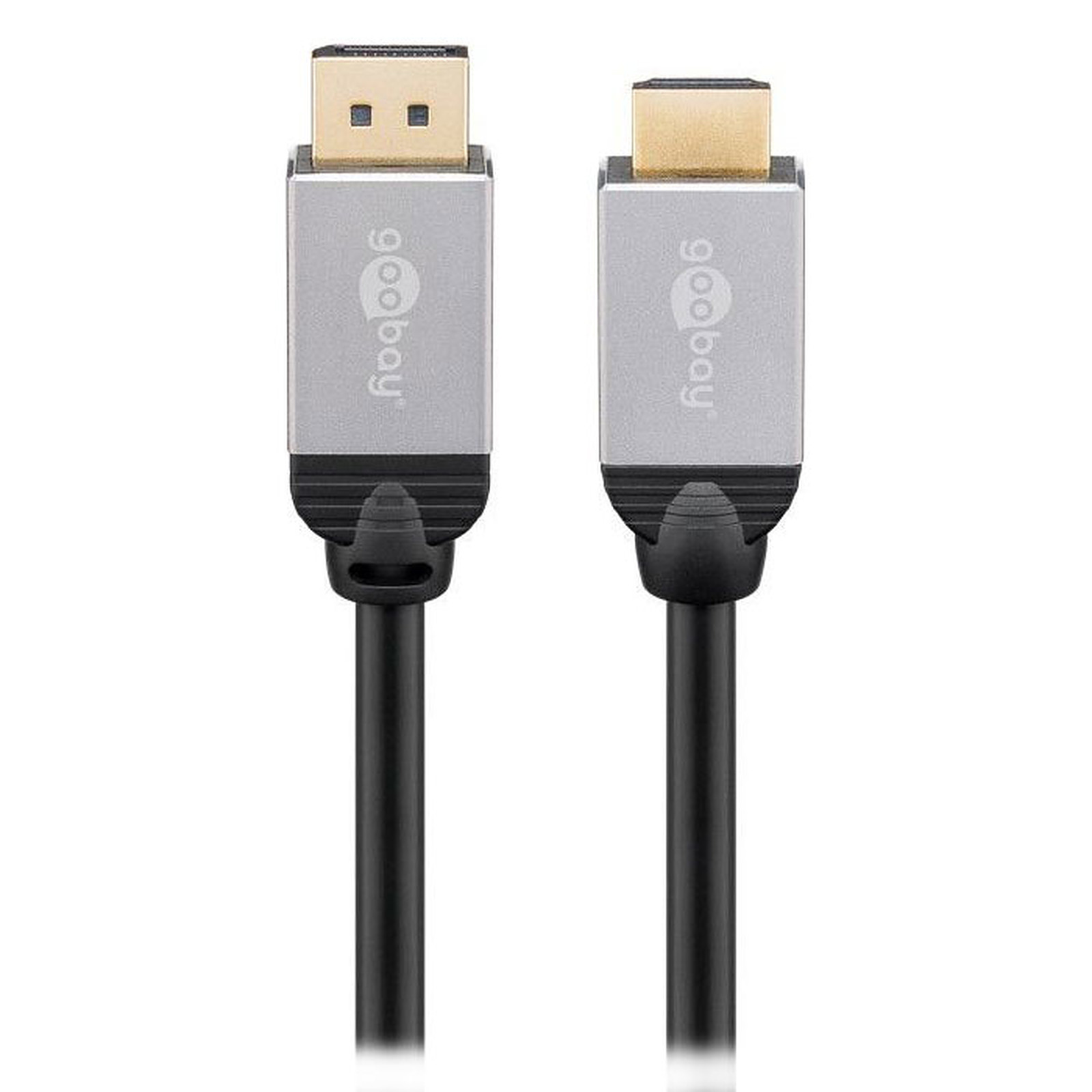 Goobay Plus Câble DisplayPort/HDMI 4K (1 m)