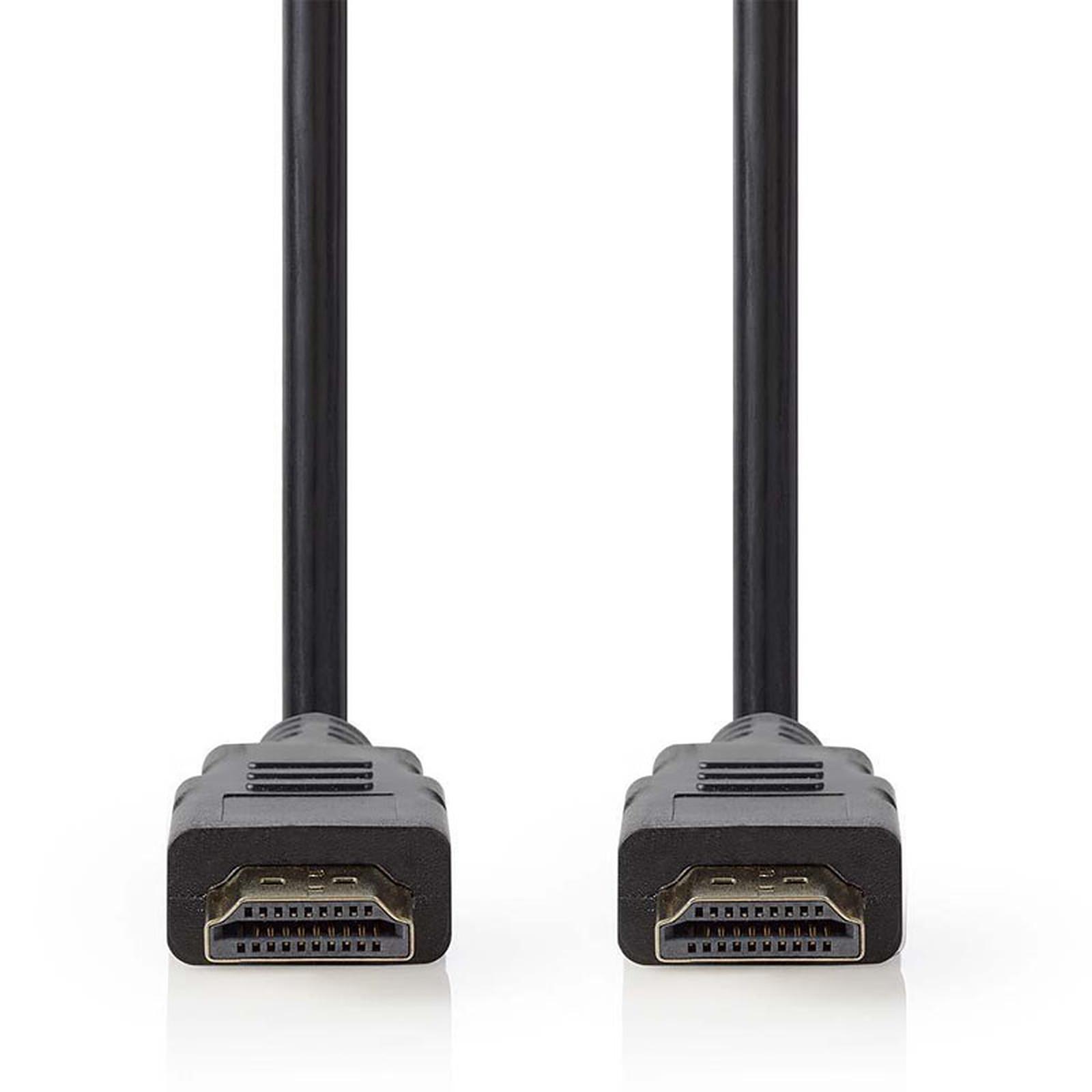Nedis Câble HDMI 2.1 Noir (2m)