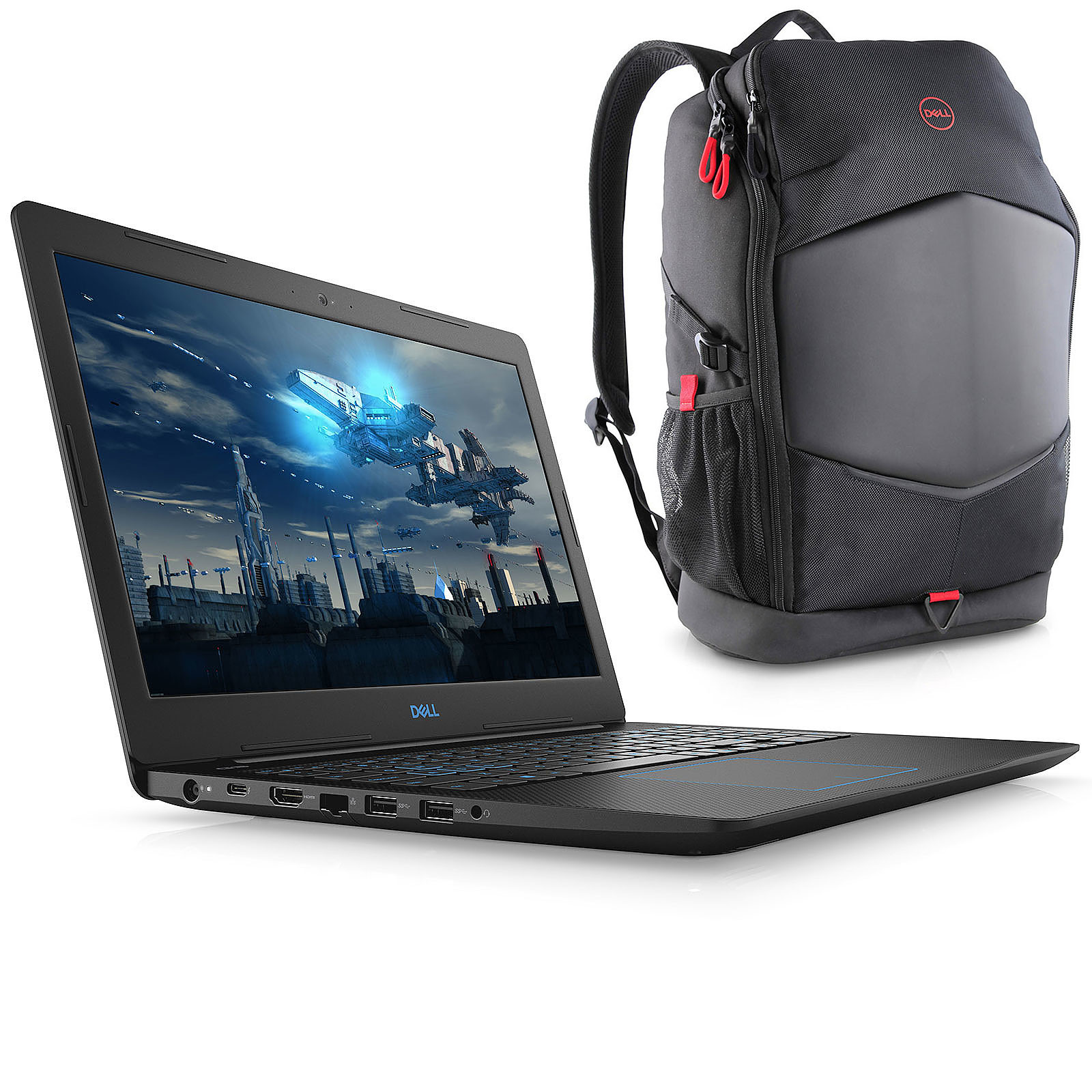 Dell G3 15 3579 (3579-4190) + sac à dos Dell Pursuit Backpack OFFERT !