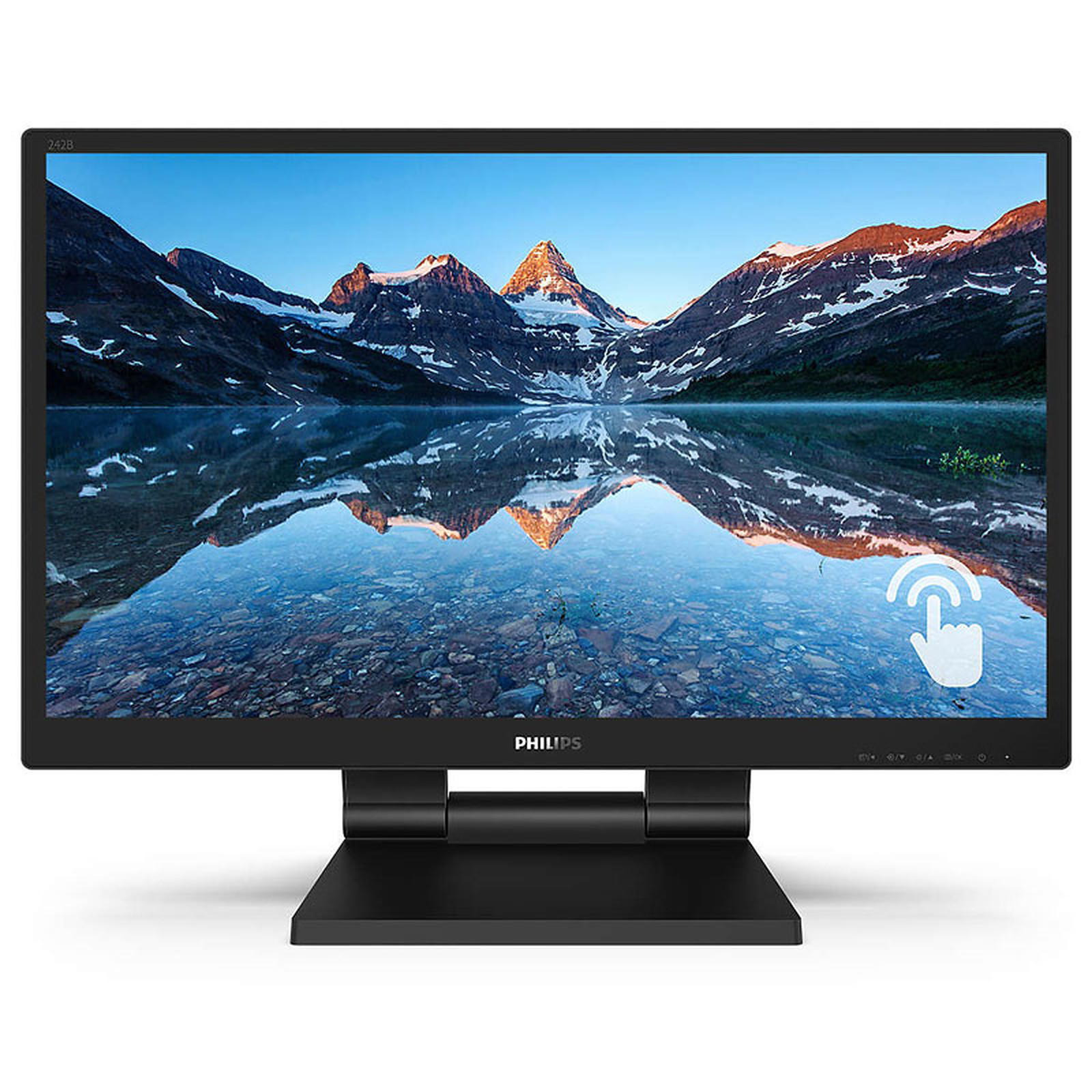 "Philips 24"" LED Tactile - 242B9T/00"
