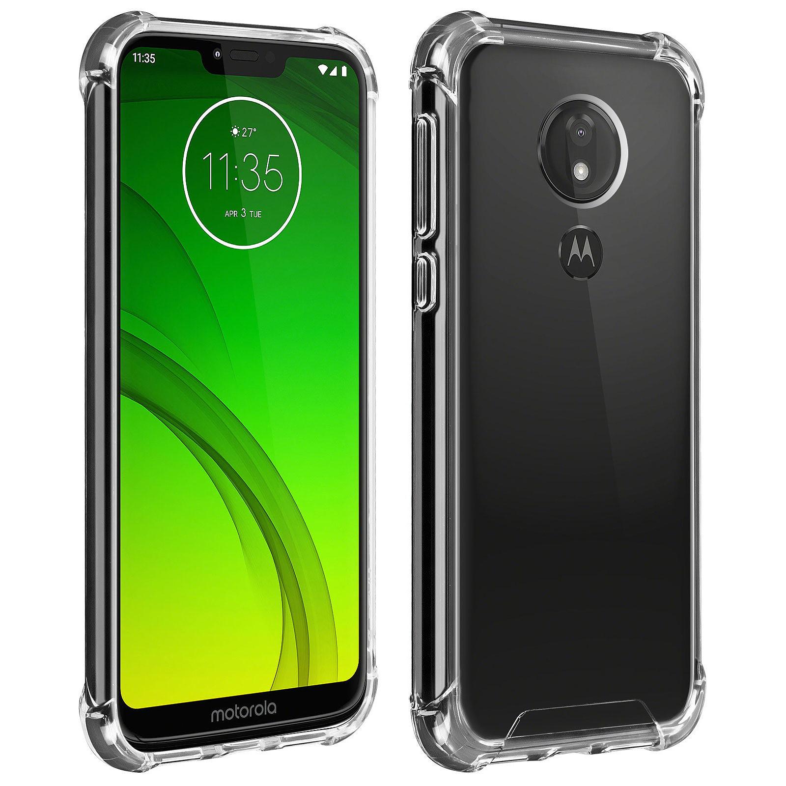 Akashi Coque TPU Angles Renforcés Motorola Moto G7 Power