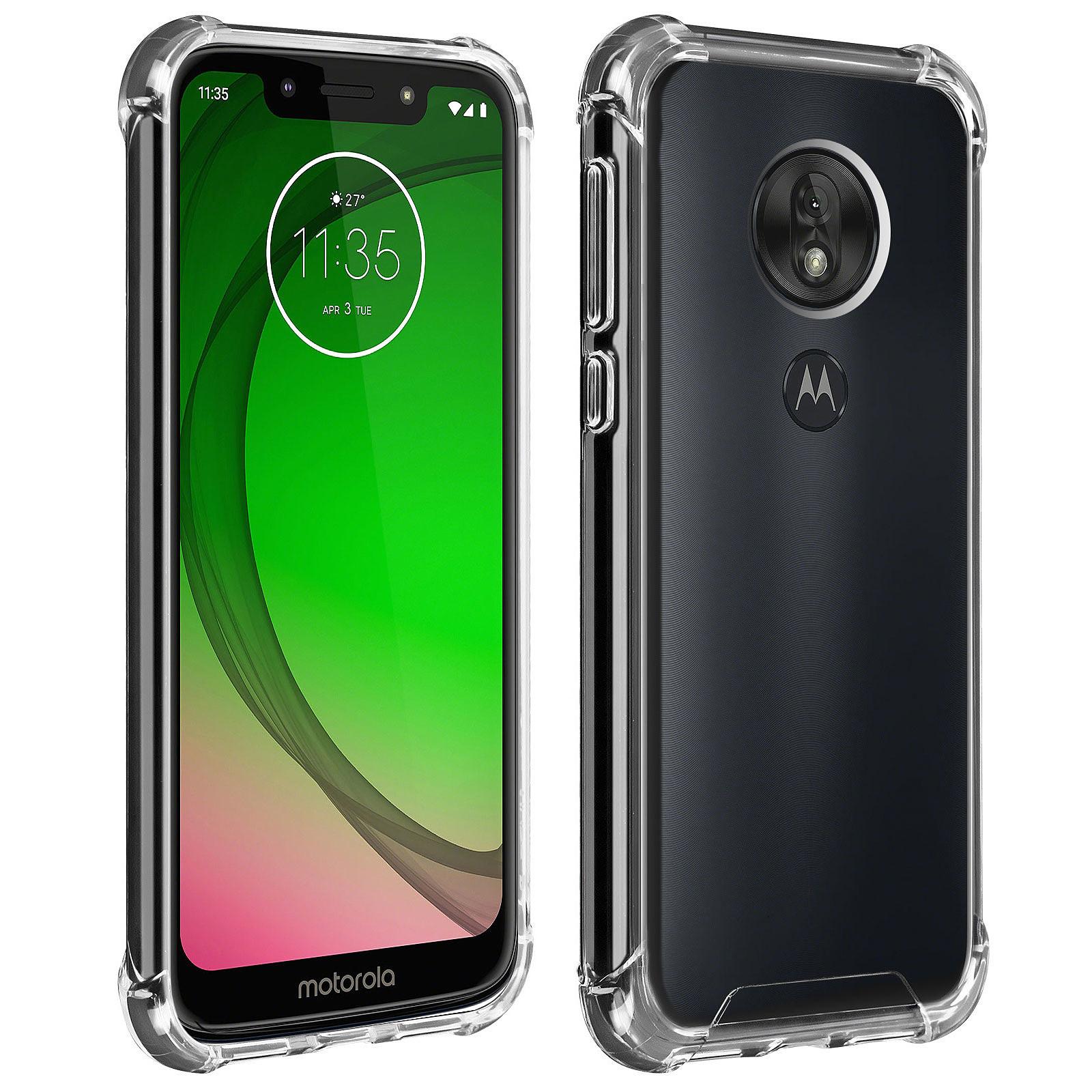 Akashi Coque TPU Transparente Motorola Moto G7 Play
