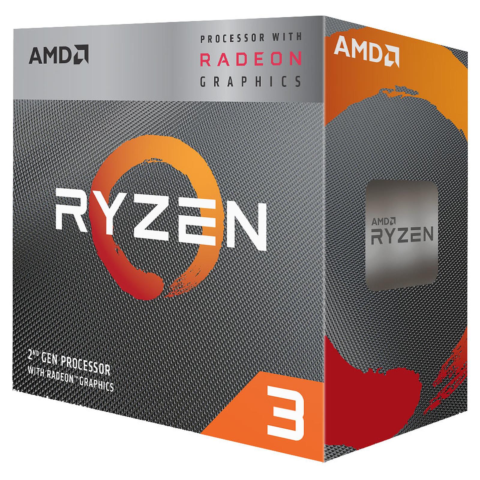 AMD Ryzen 3 3200G Wraith Stealth Edition (3.6 GHz / 4 GHz) avec mise à jour BIOS