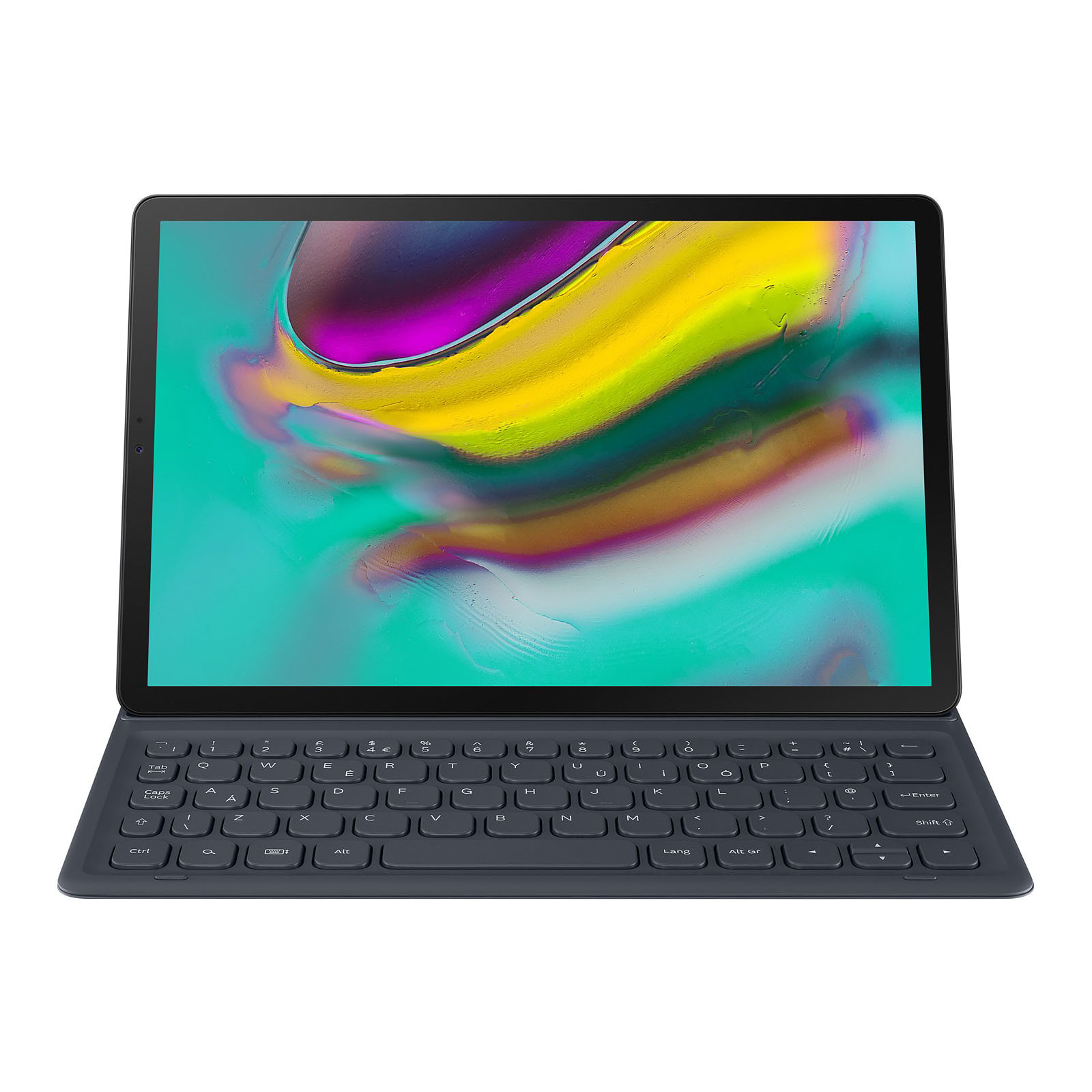 Samsung Book Cover Keyboard EJ FT720BBEG Noir (pour Galaxy Tab S5e)