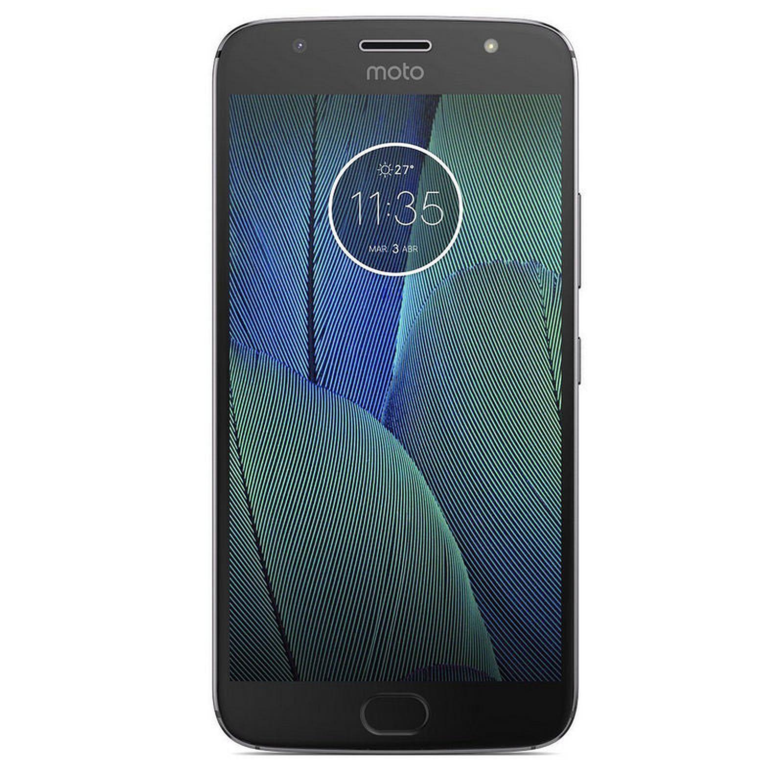 Motorola Moto G5s Plus Gris Libre