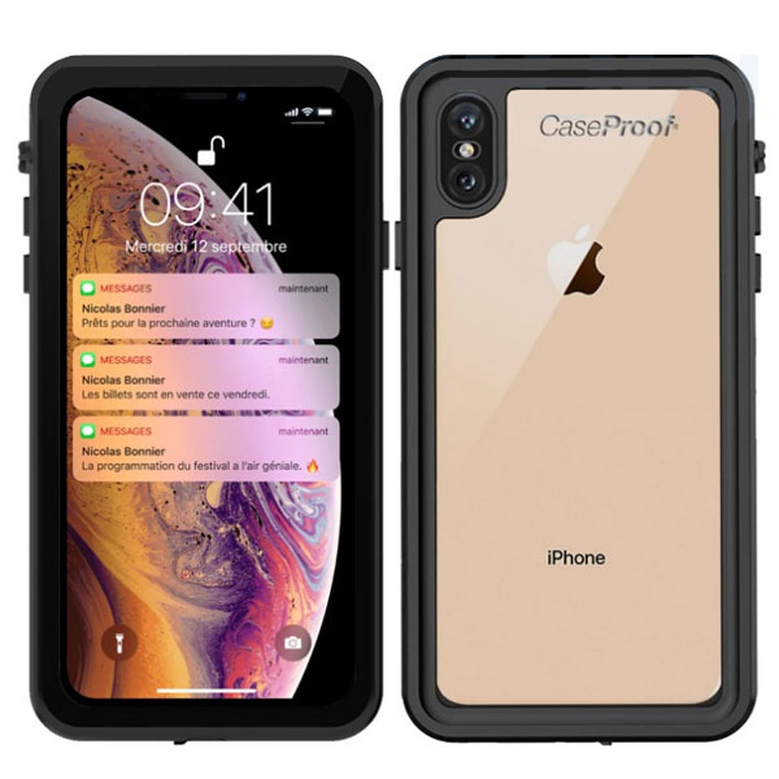 coque plongee iphone xr