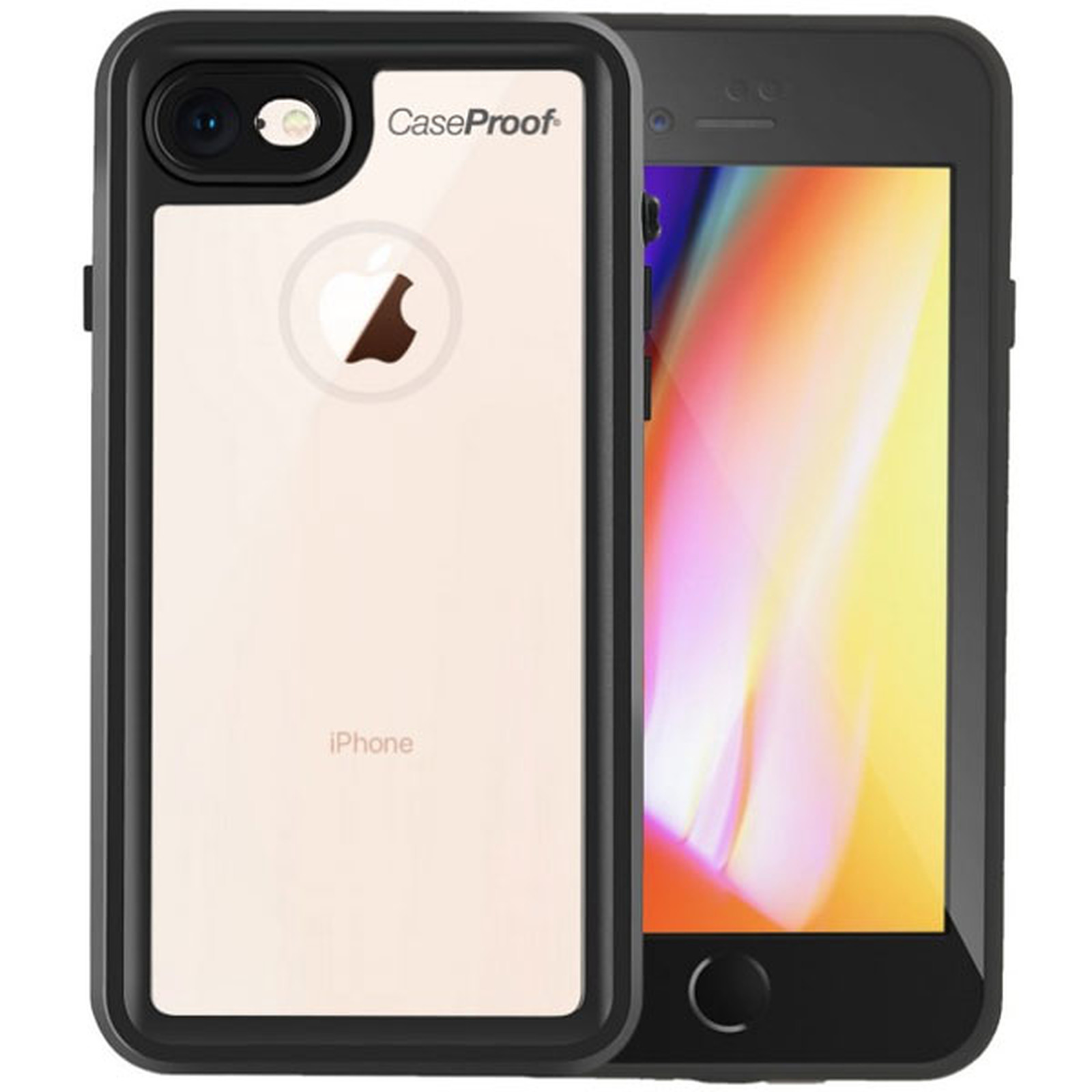 CaseProof Serial Case Waterproof Noir Apple iPhone 7/8