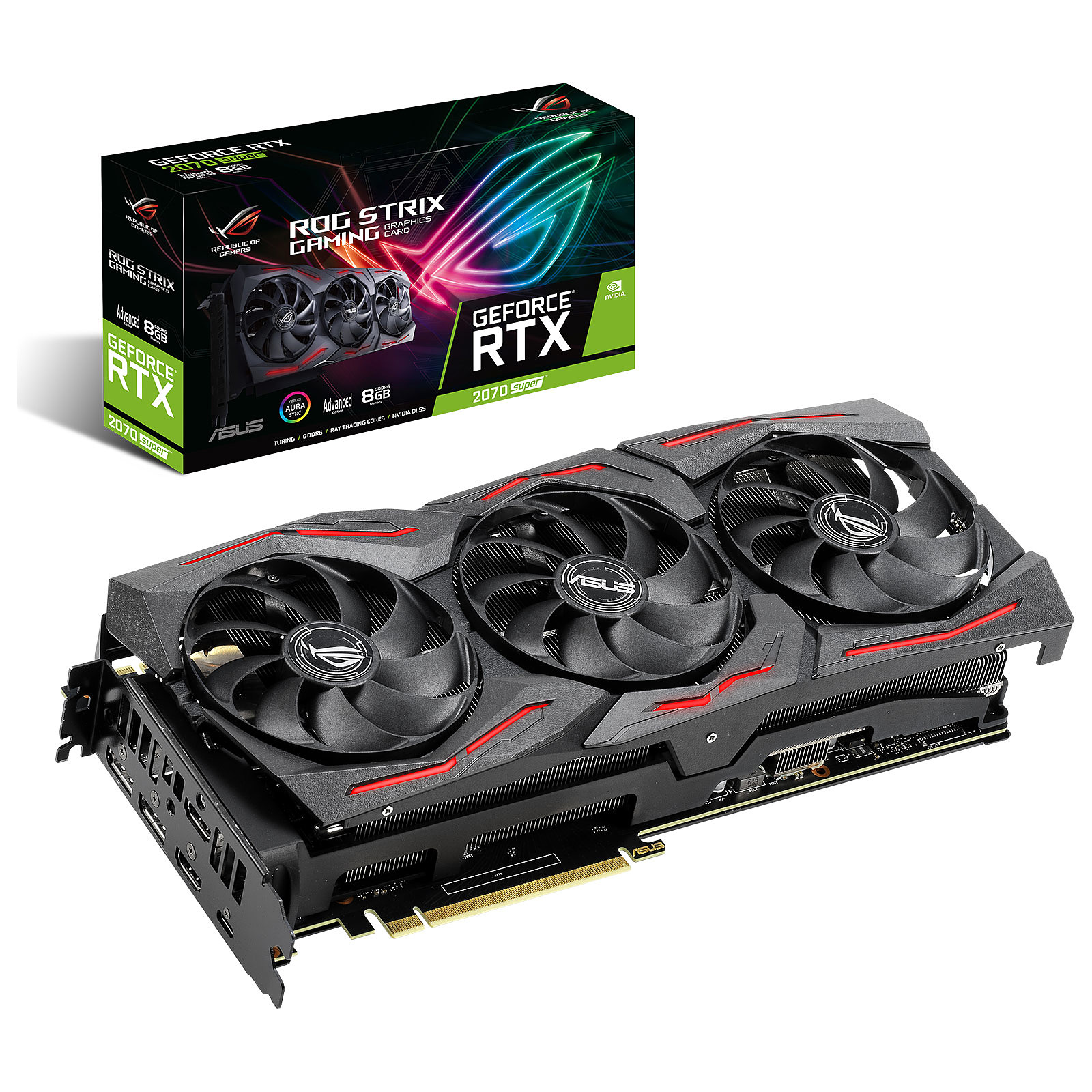 ASUS GeForce RTX 2070 SUPER ROG-STRIX-RTX2070S-A8G-GAMING