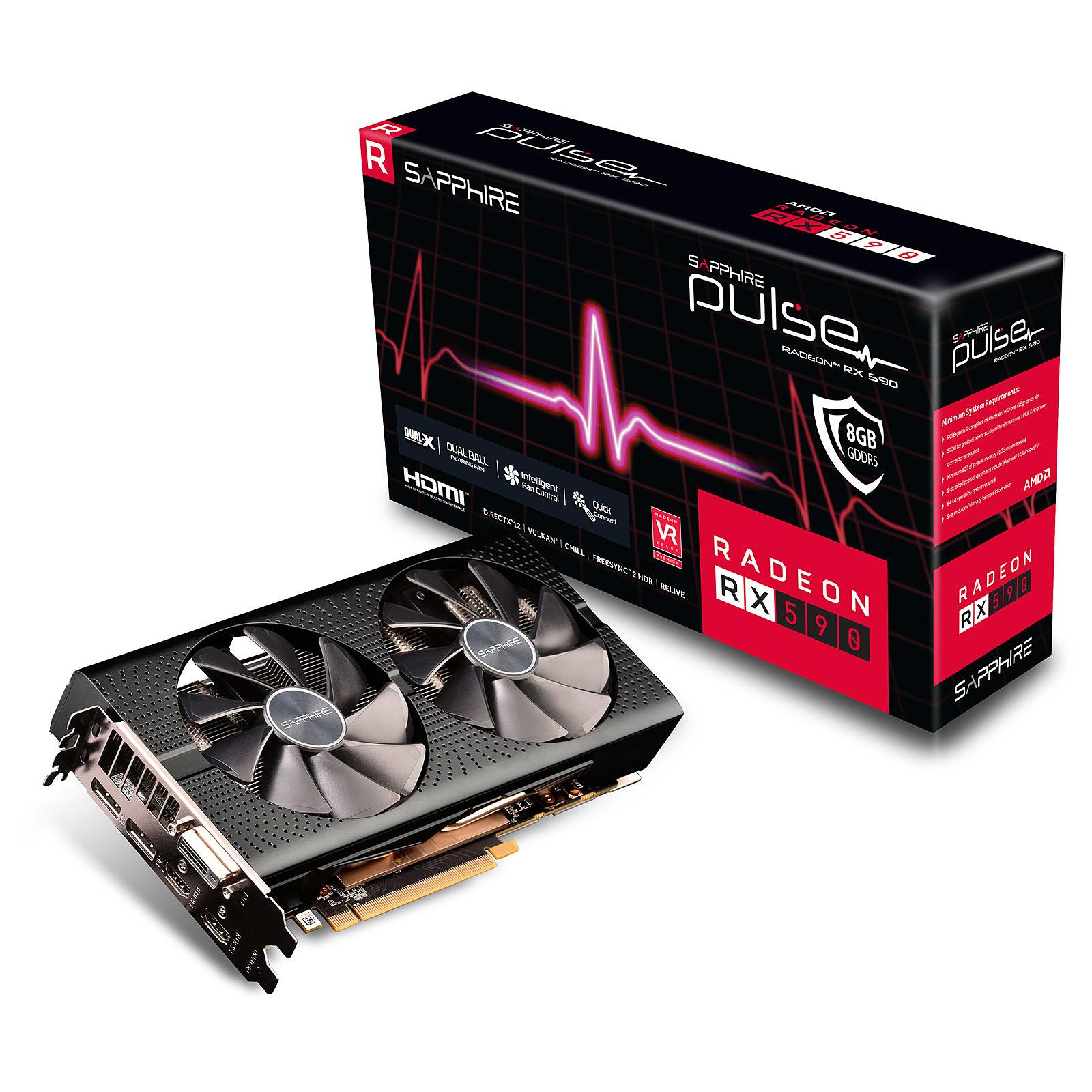 Sapphire PULSE Radeon RX 590 8G