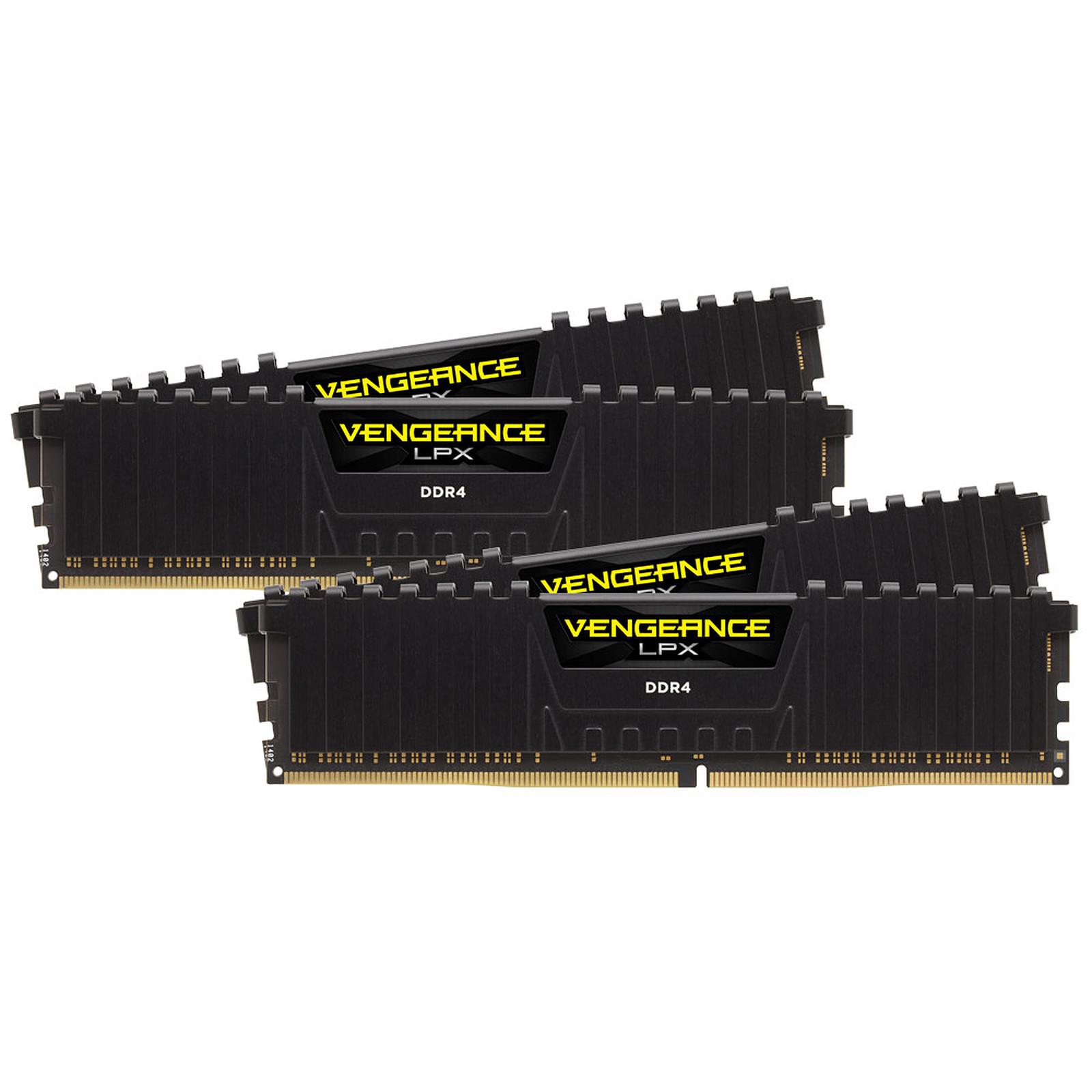 Corsair Vengeance LPX Series Low Profile 128 Go (4 x 32 Go) DDR4 2400 MHz CL16