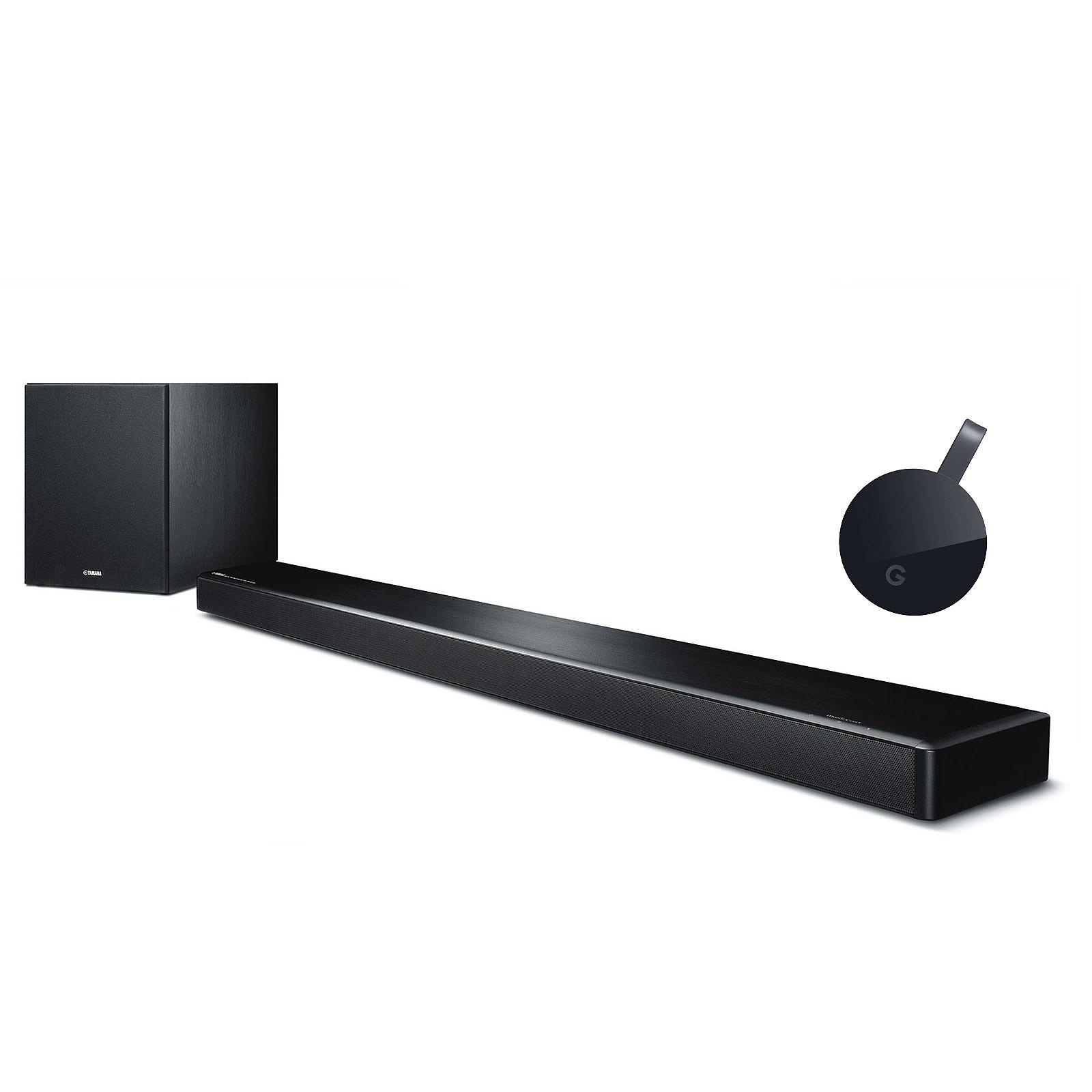 Yamaha MusicCast YSP-2700 Noir + Google Chromecast Ultra