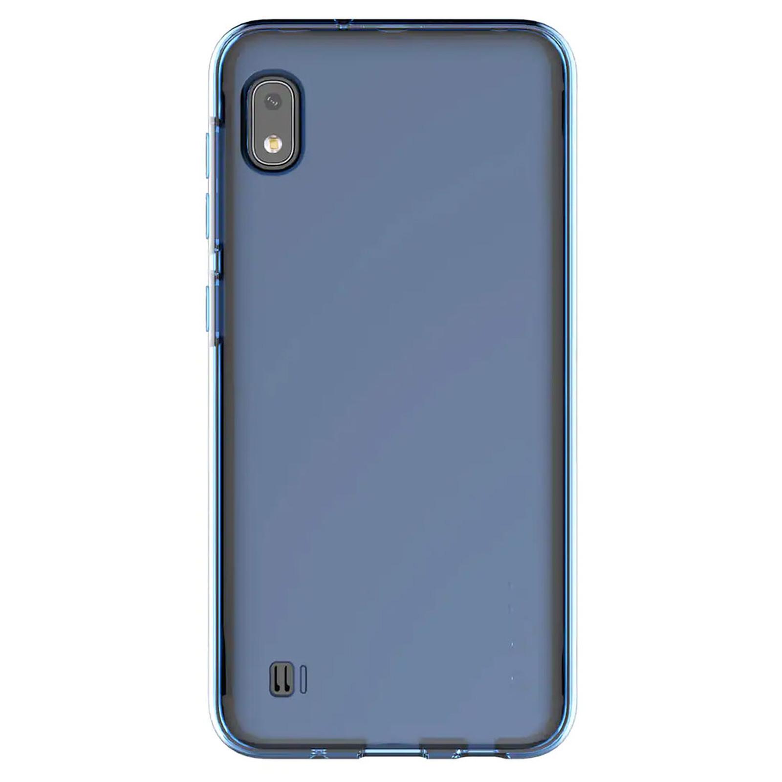 Samsung Coque Arrière Souple Bleu Galaxy A10