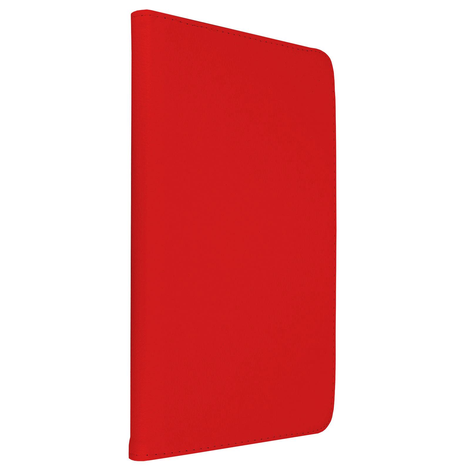 """Akashi Etui Folio Galaxy Tab A 10.1"""" Rouge"""