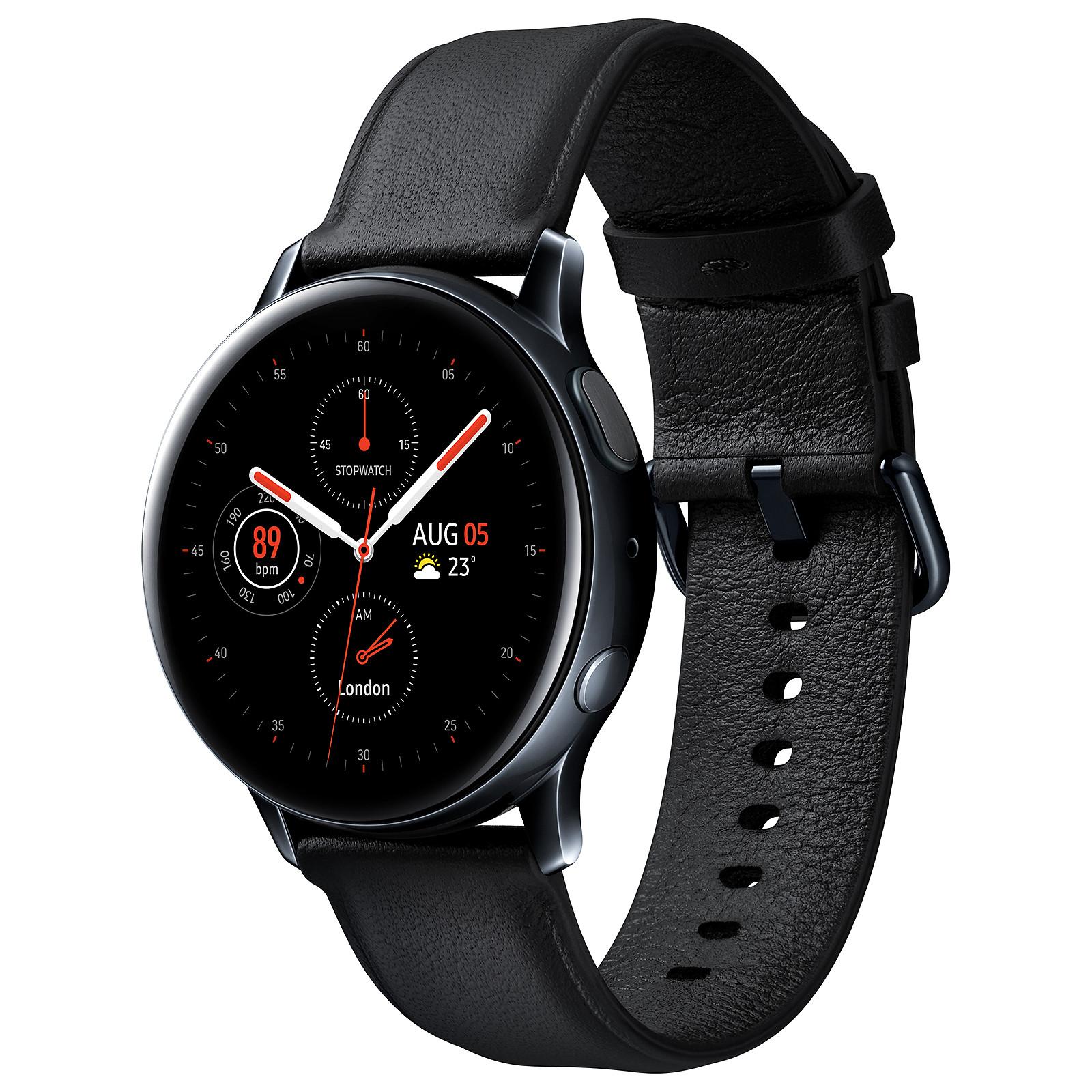 Samsung Galaxy Watch Active 2 (40 mm / Acier / Noir Diamant)