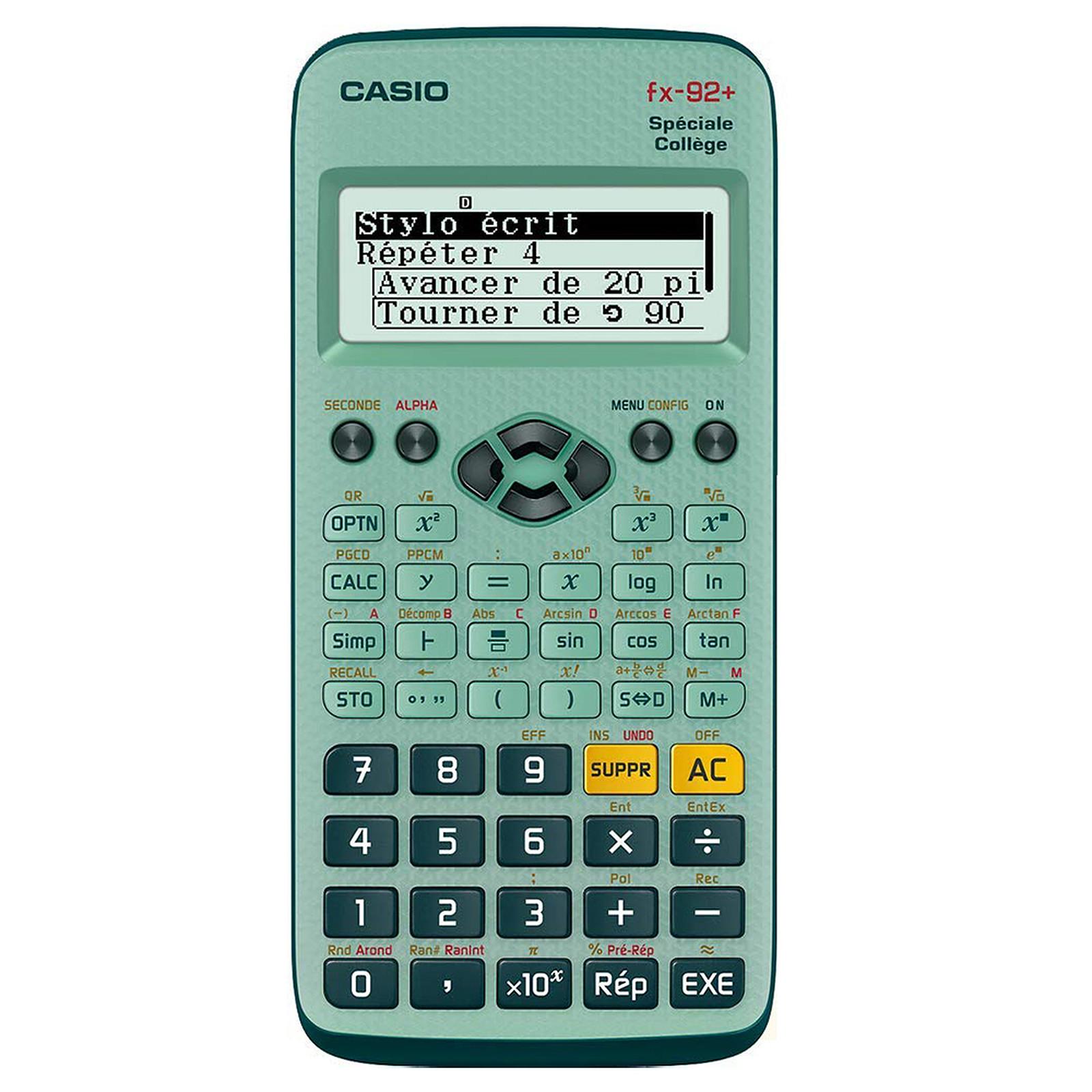 Casio FX-92+ Spéciale Collège
