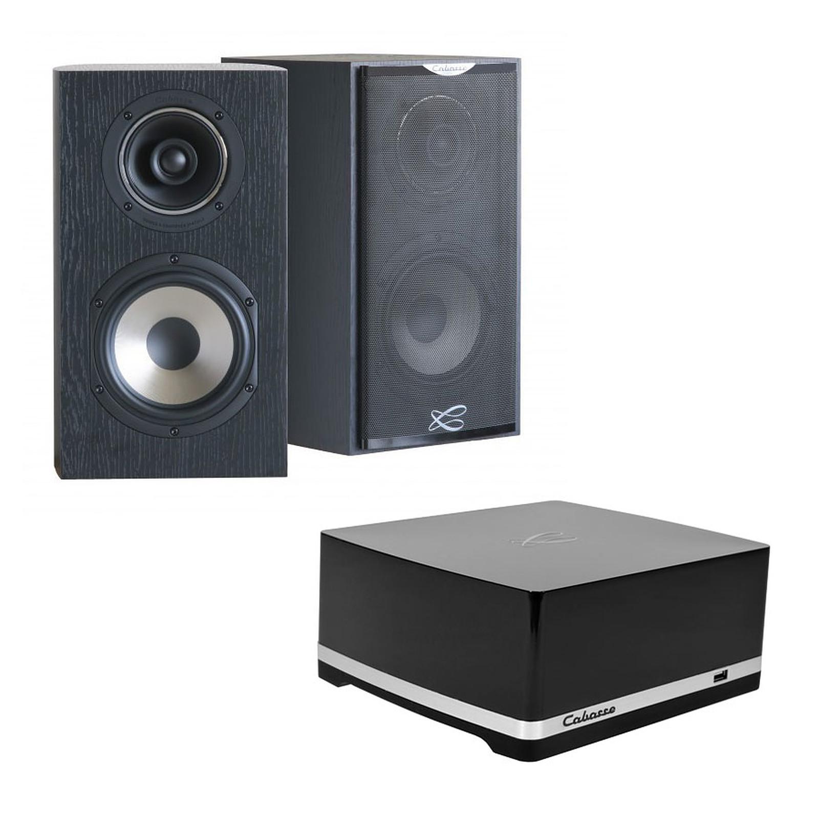 Cabasse Stream AMP 100 + Antigua MC170 Ebène