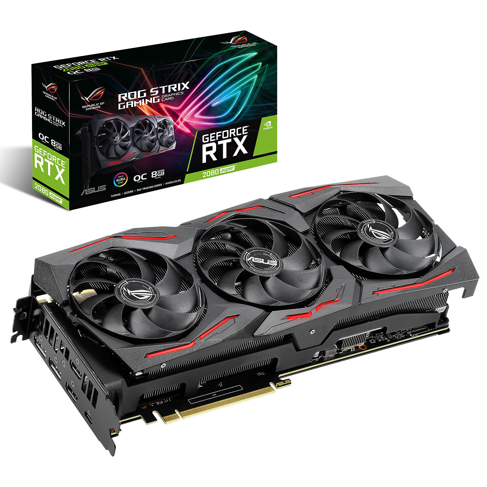 ASUS GeForce RTX 2080 SUPER ROG-STRIX-RTX2080S-O8G-GAMING