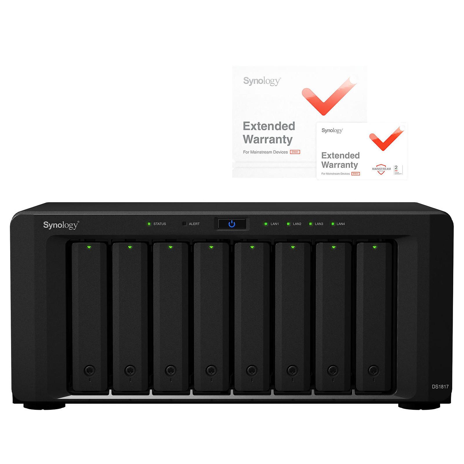Synology DiskStation DS1817 avec extension de garantie 2 ans