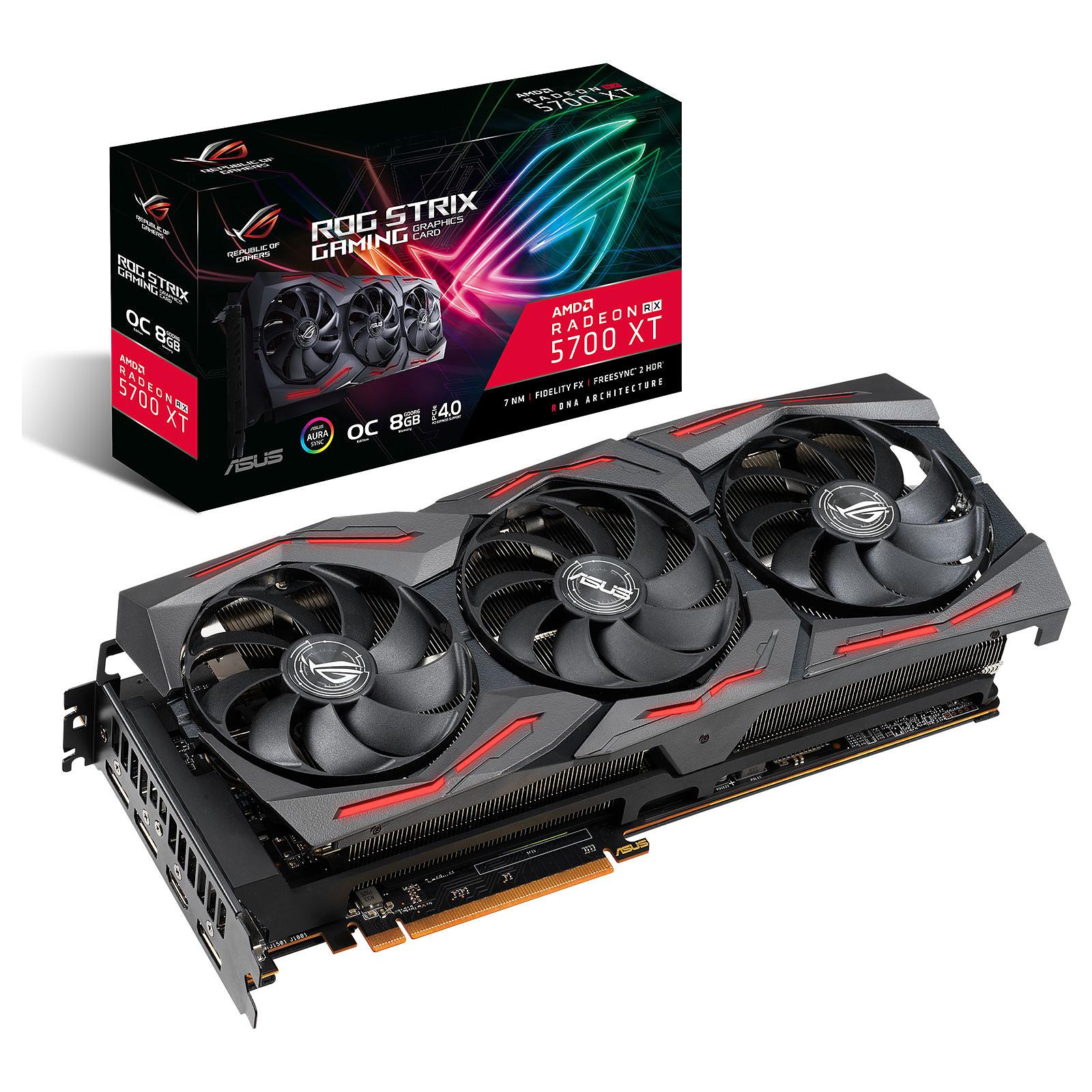 ASUS Radeon RX 5700XT ROG-STRIX-RX5700XT-O8G-GAMING