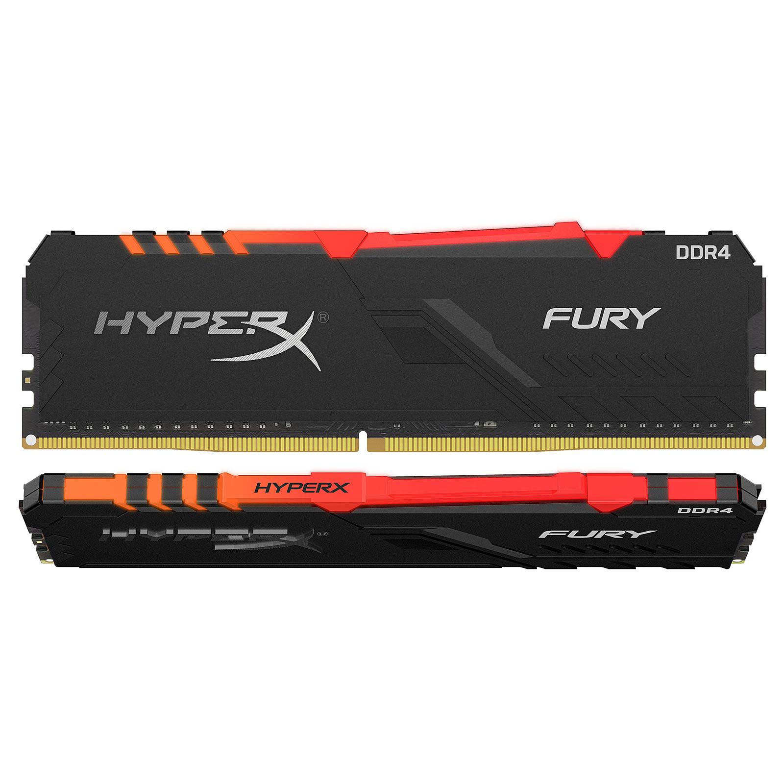 HyperX Fury RGB 32 Go (2x 16 Go) DDR4 2400 MHz CL15