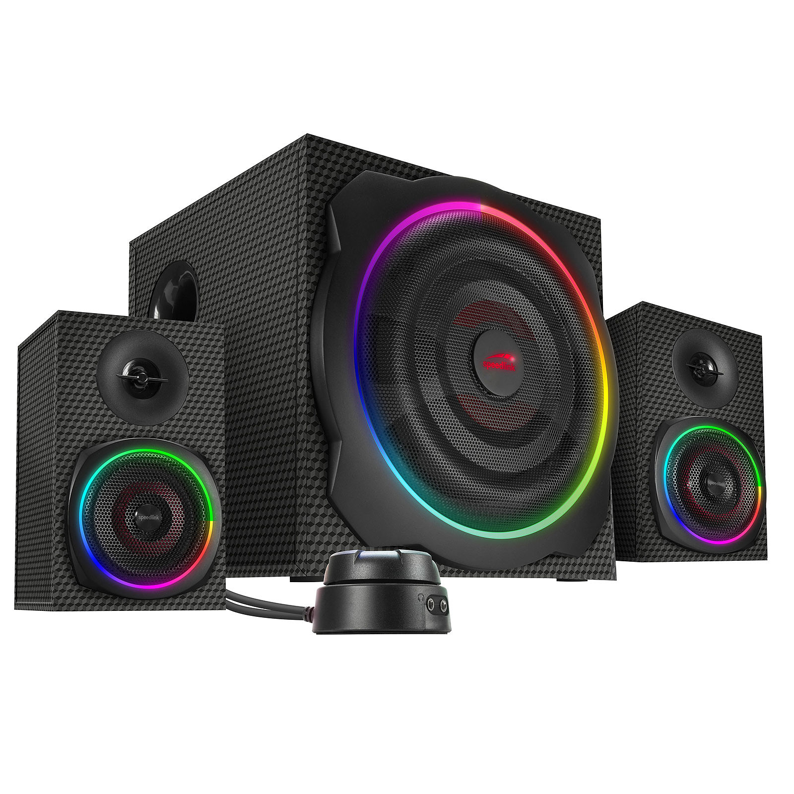Speedlink Gravity Carbon RGB