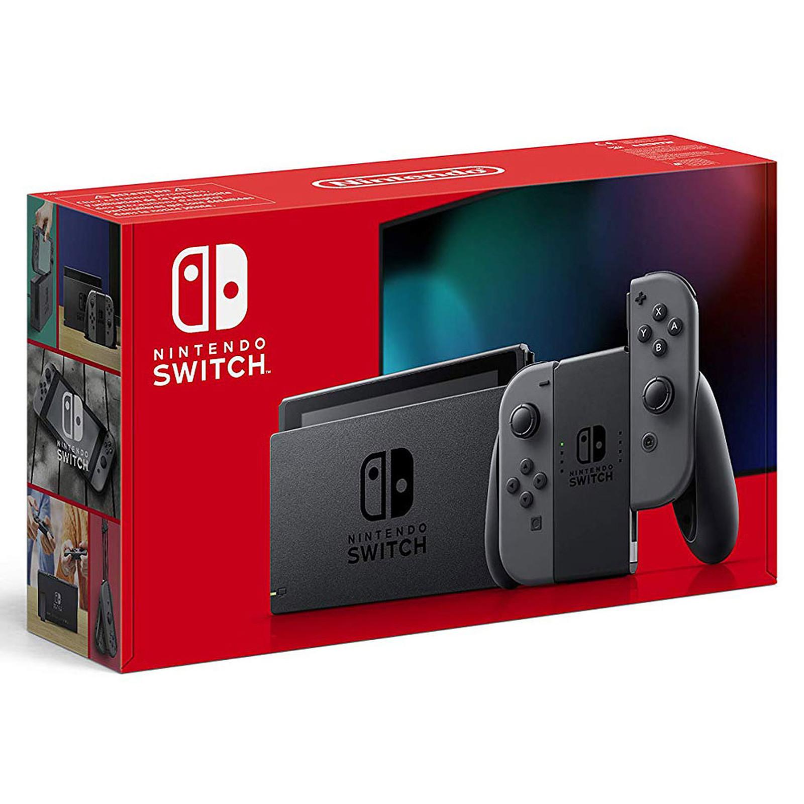 Nintendo Switch v2 + Joy-Con droit et gauche (gris)