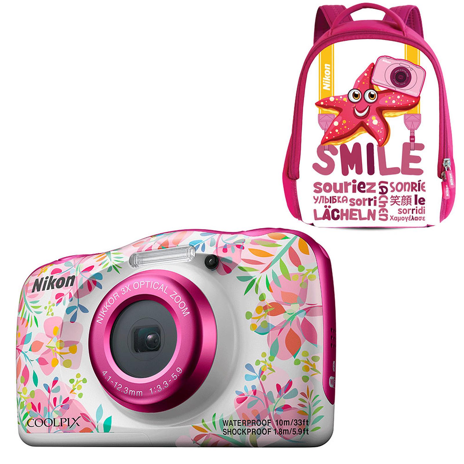 Nikon Coolpix W150 Fleur + Sac à dos