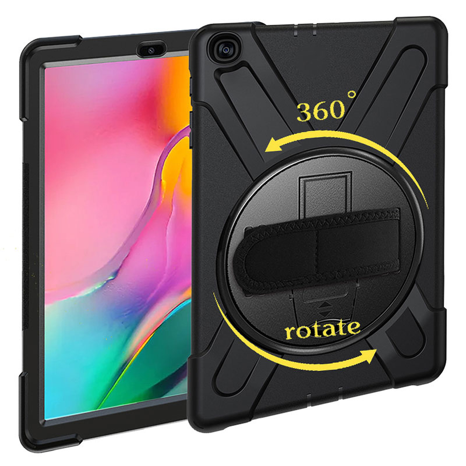 "Akashi Coque Renforcée Samsung Galaxy Tab A 10.1"" 2019"